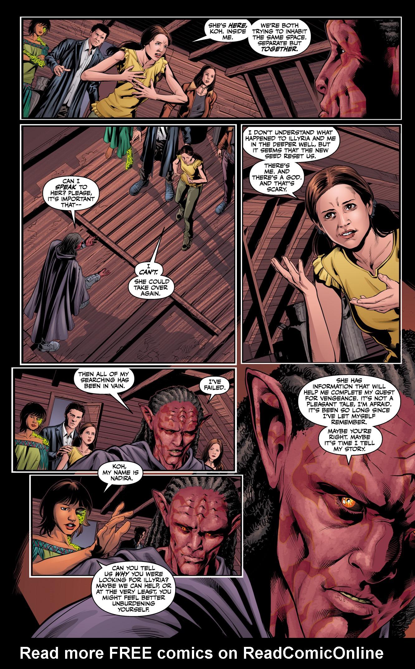 Read online Angel & Faith Season 10 comic -  Issue #12 - 5
