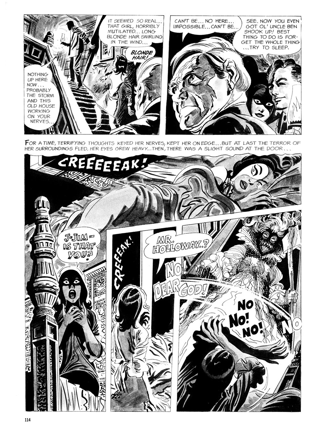 Read online Eerie Archives comic -  Issue # TPB 2 - 115