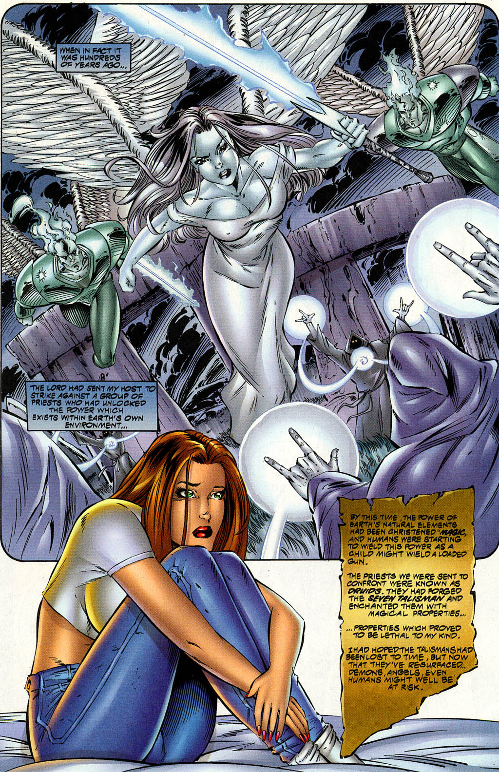 Read online Avengelyne (1996) comic -  Issue #8 - 11