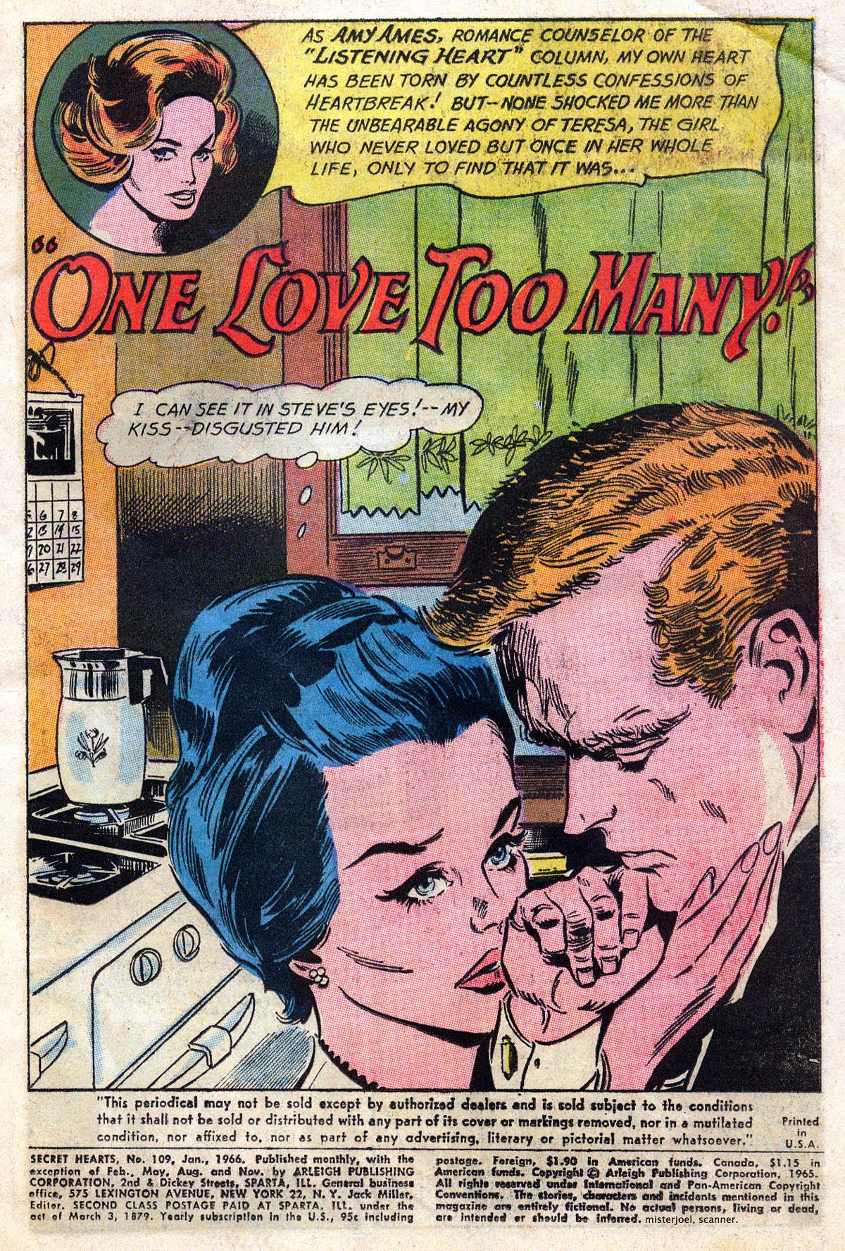 Read online Secret Hearts comic -  Issue #109 - 3