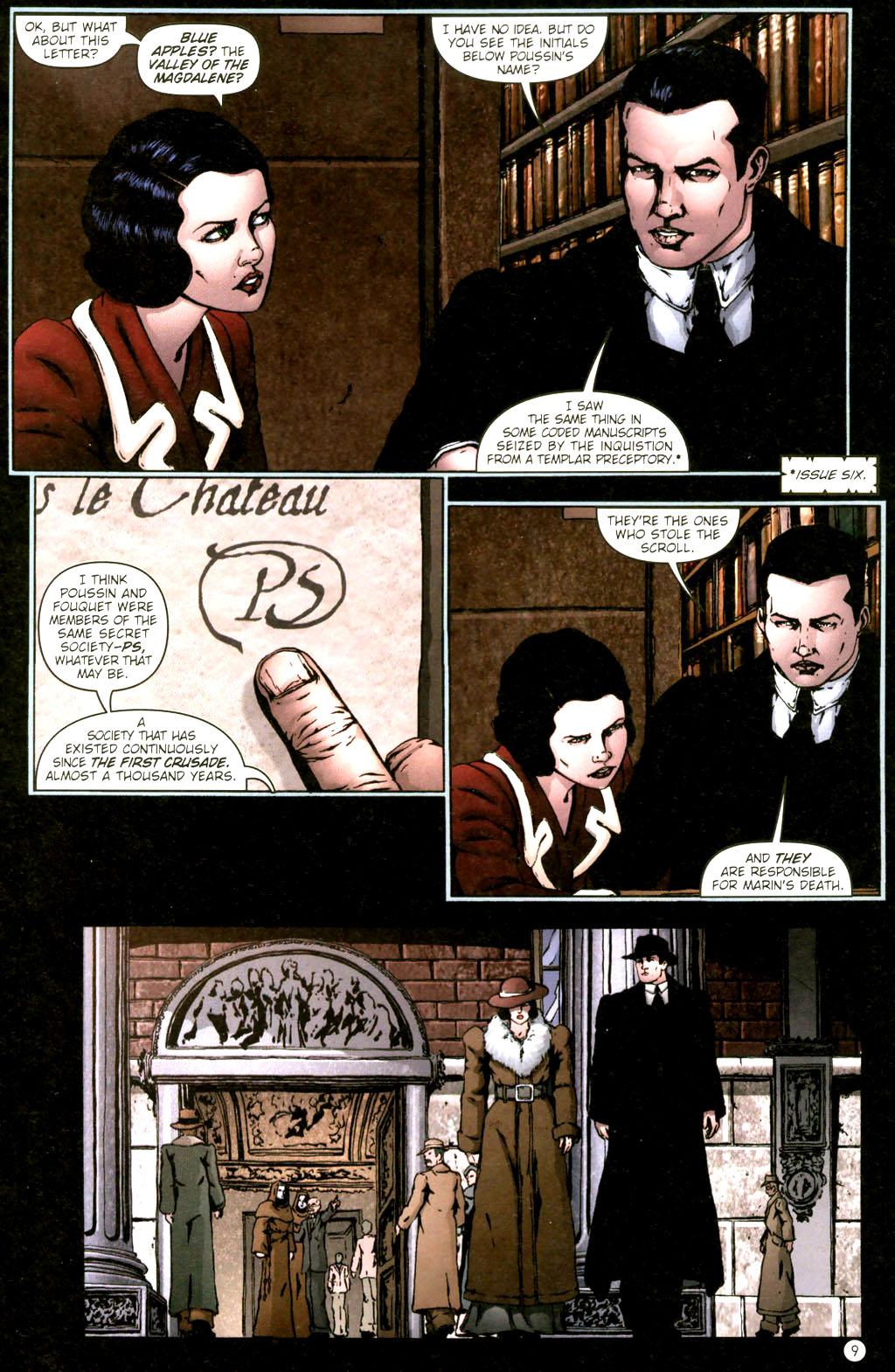 Read online Rex Mundi comic -  Issue #9 - 13
