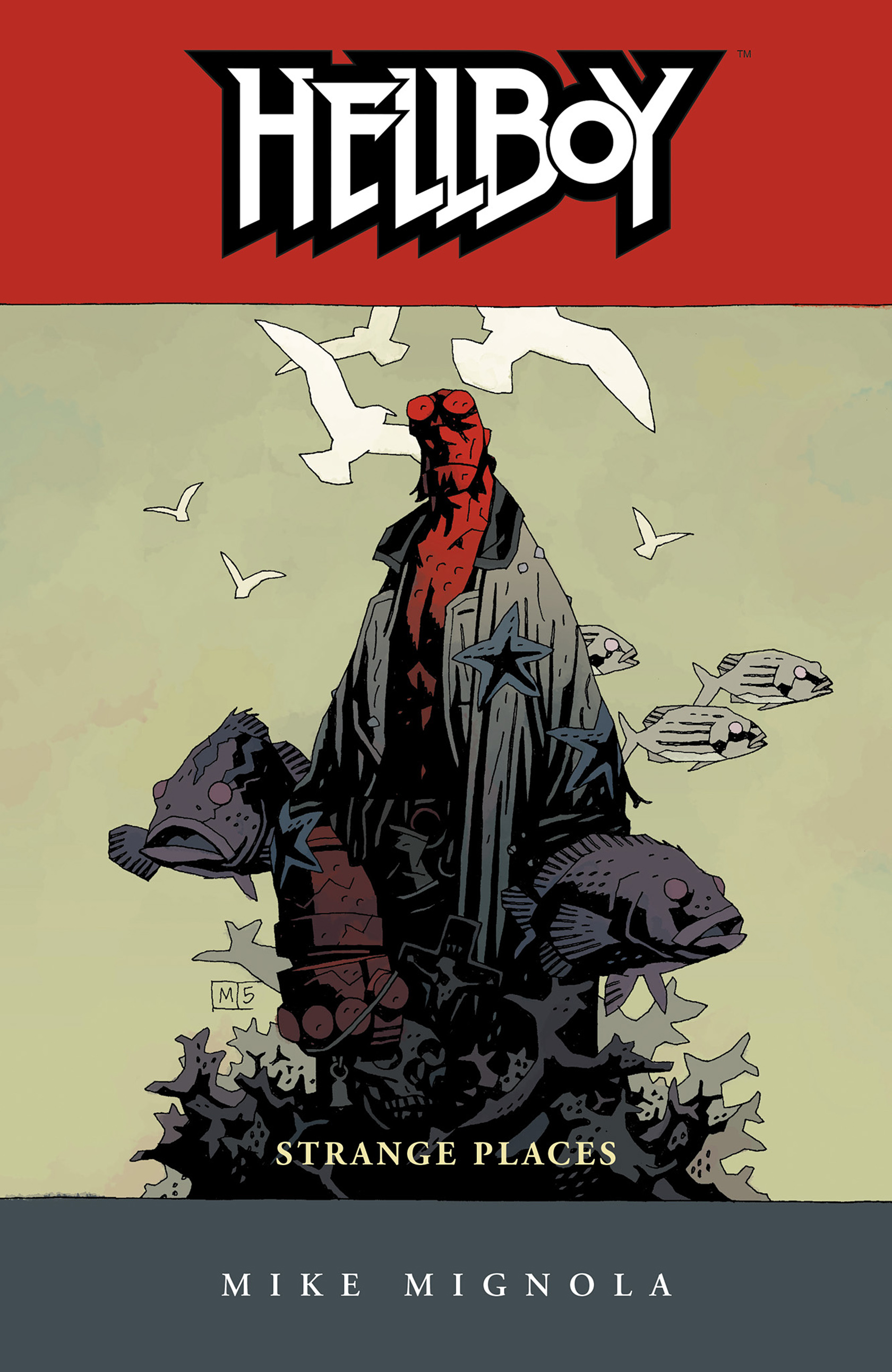 Read online Hellboy: Strange Places comic -  Issue # TPB - 1