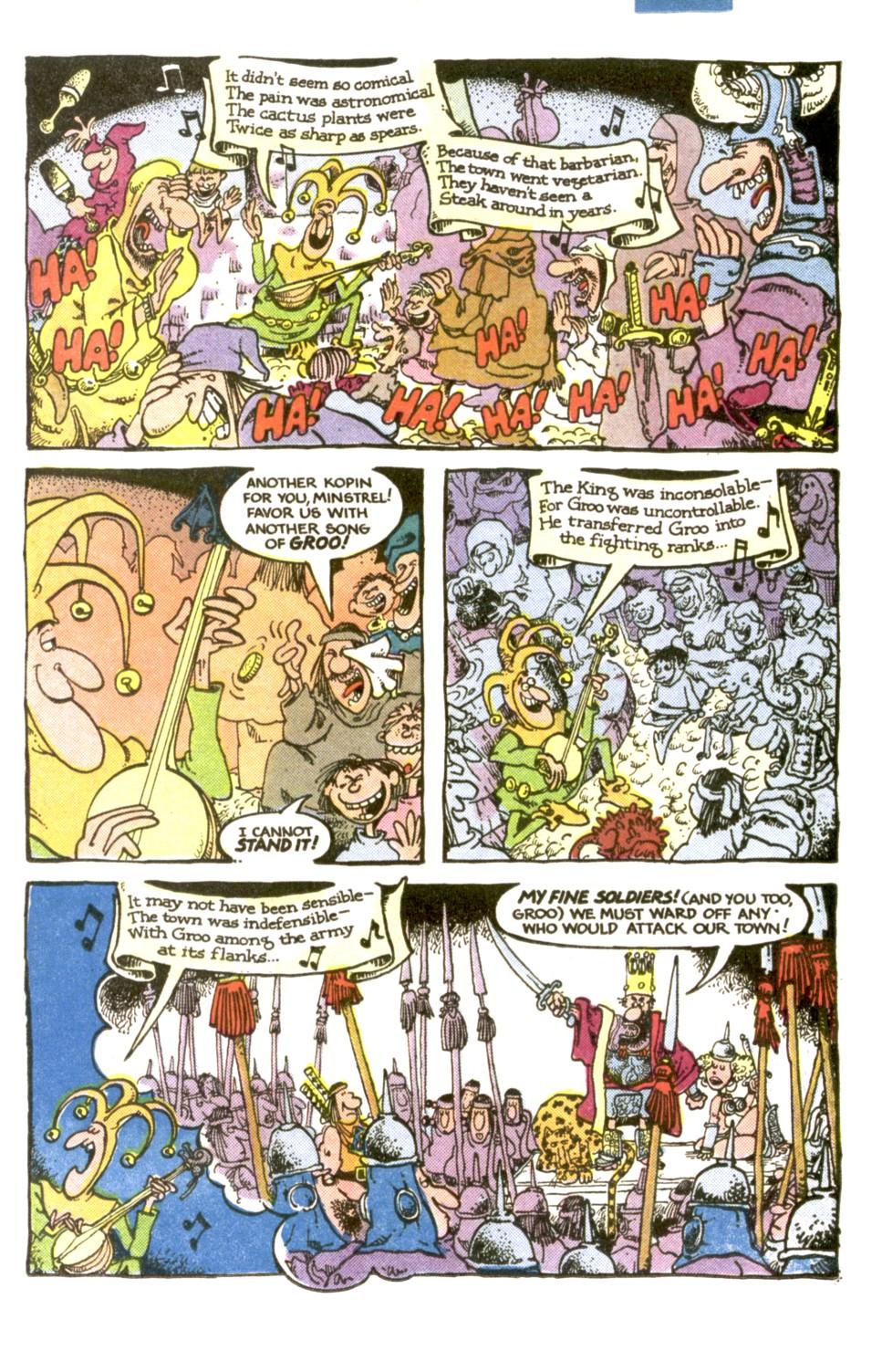 Read online Sergio Aragonés Groo the Wanderer comic -  Issue #1 - 9