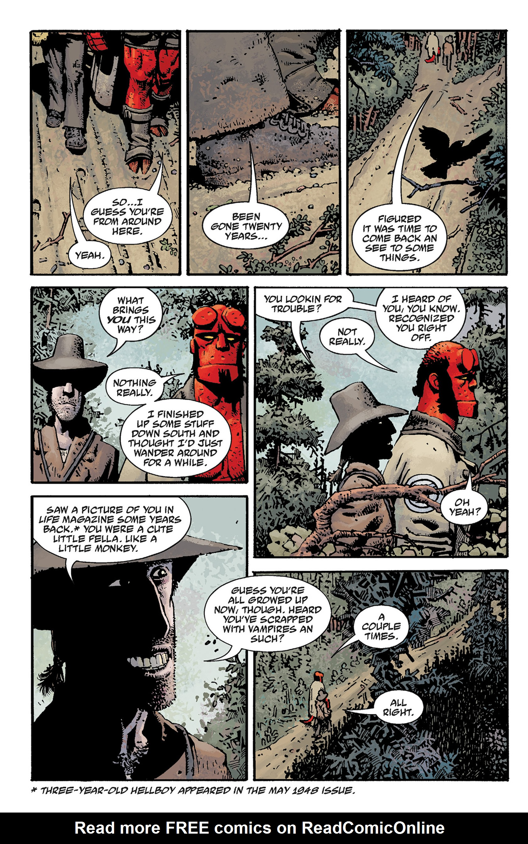 Read online Hellboy: The Crooked Man and Others comic -  Issue # TPB - 14
