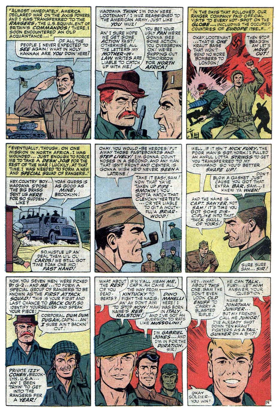 Read online Sgt. Fury comic -  Issue #101 - 32