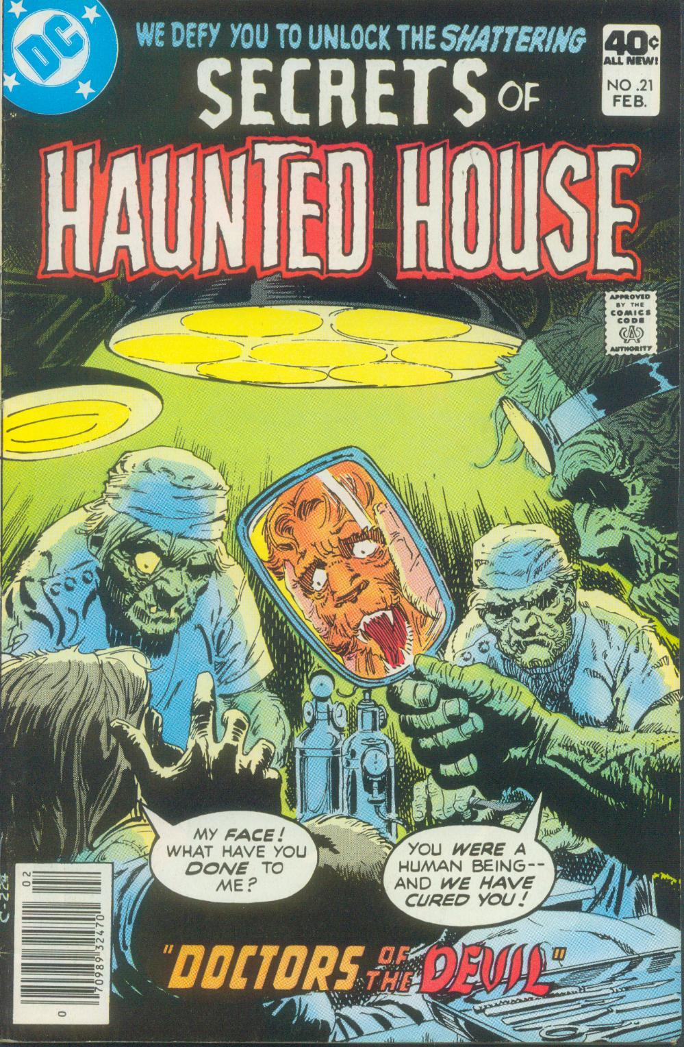 Read online Secrets of Haunted House comic -  Issue #21 - 2