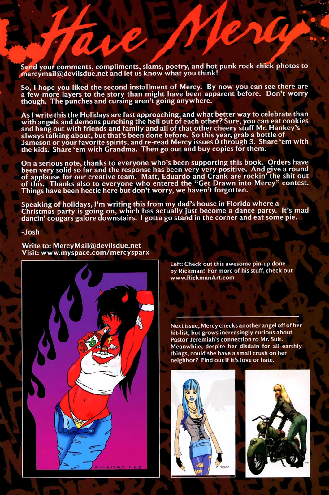 Read online Mercy Sparx (2008) comic -  Issue #2 - 25