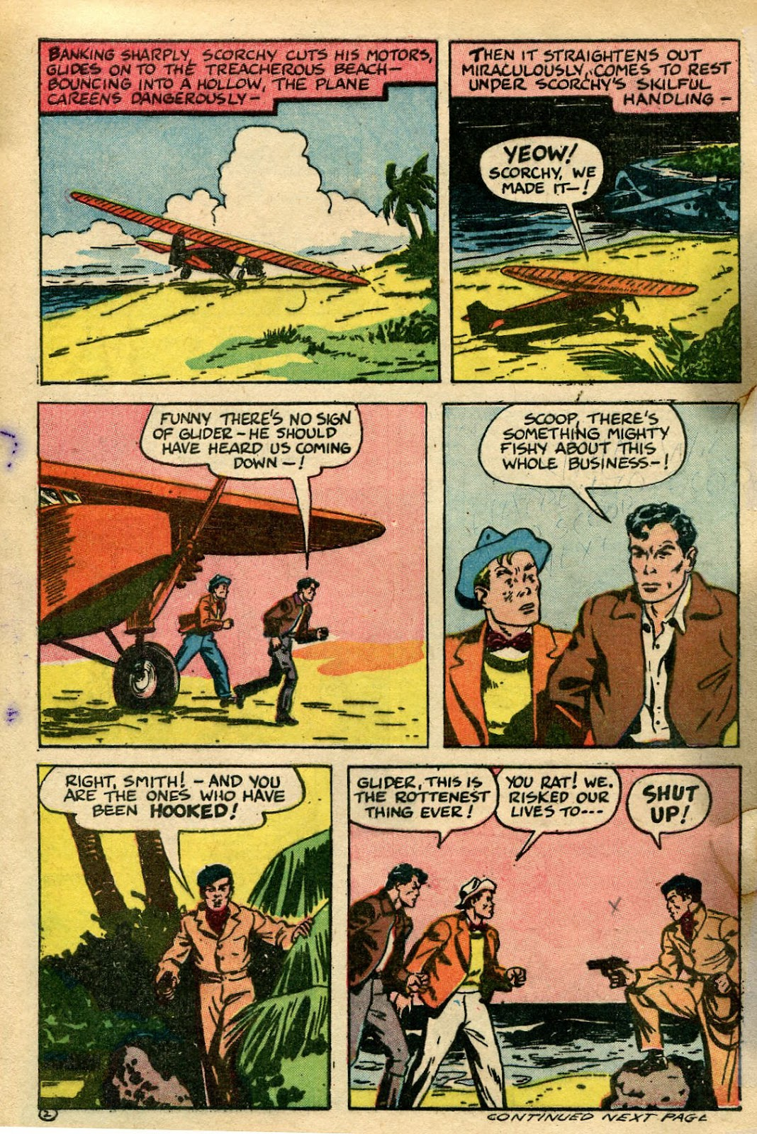 Read online Famous Funnies comic -  Issue #135 - 28