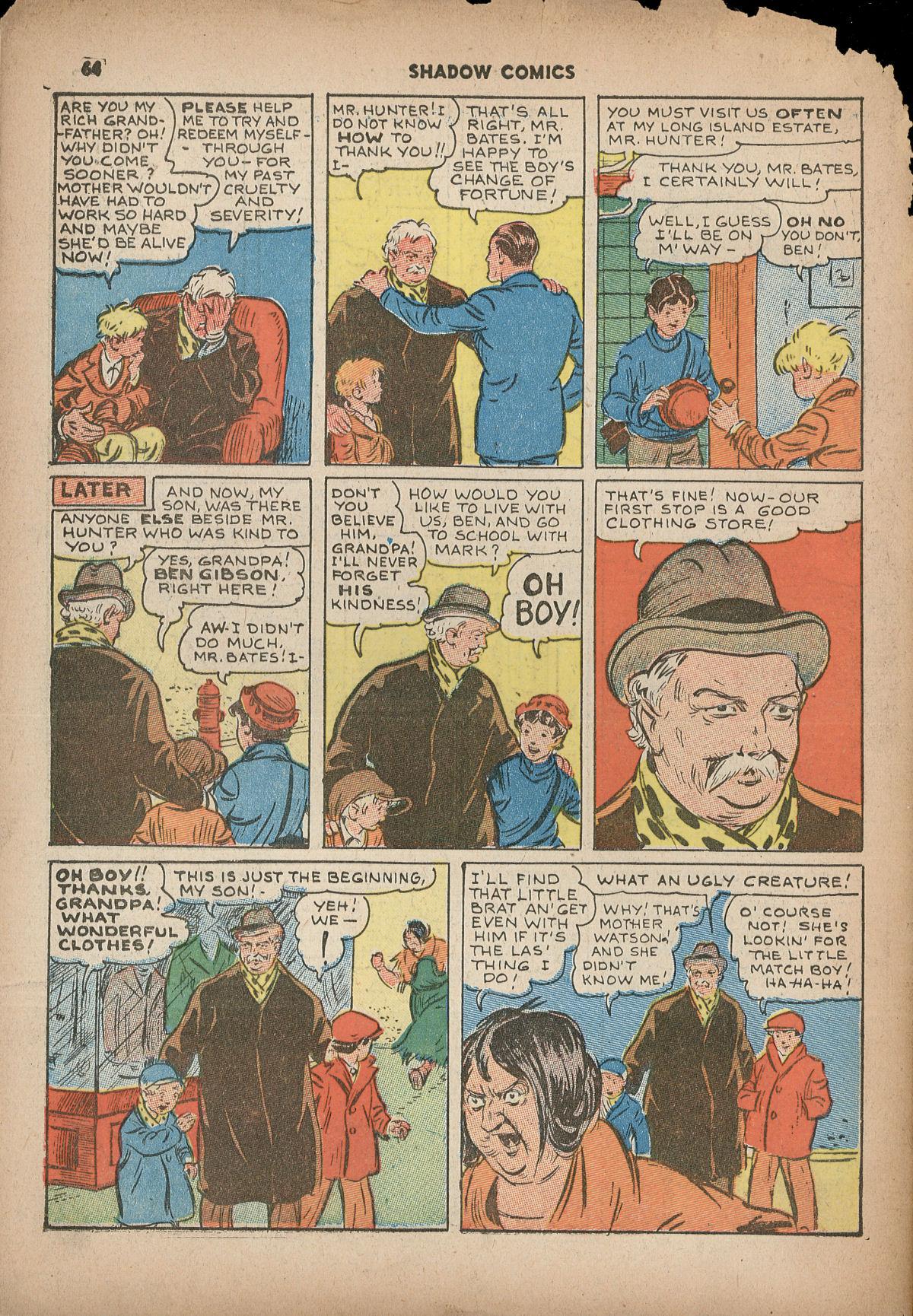 Read online Shadow Comics comic -  Issue #2 - 67