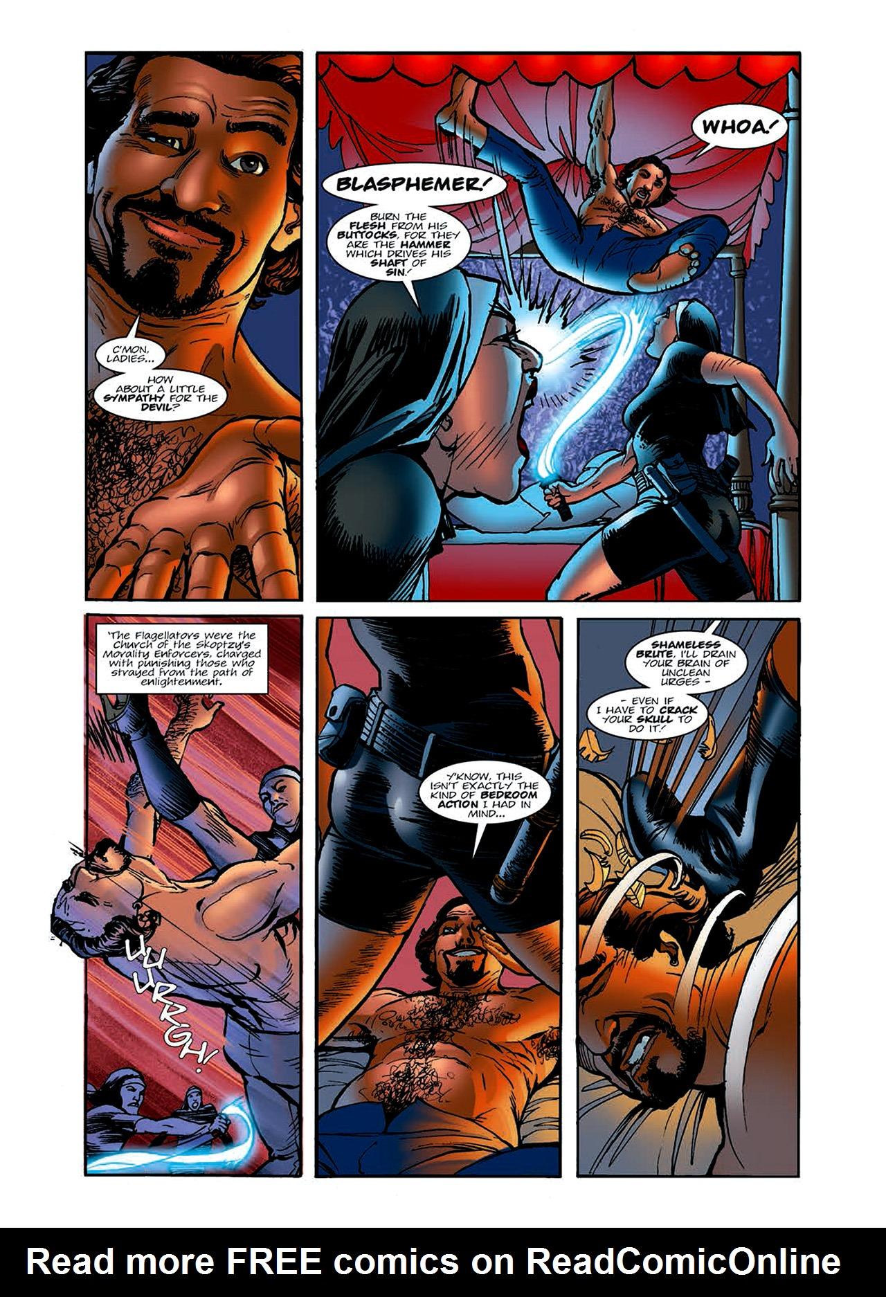 Read online Nikolai Dante comic -  Issue # TPB 6 - 25