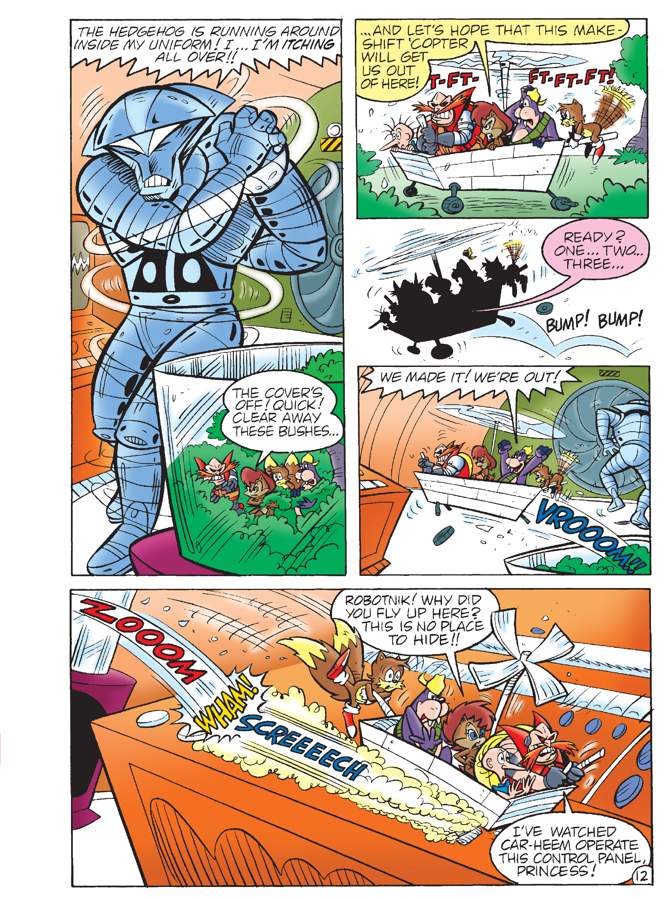 Read online Sonic Super Digest comic -  Issue #7 - 110