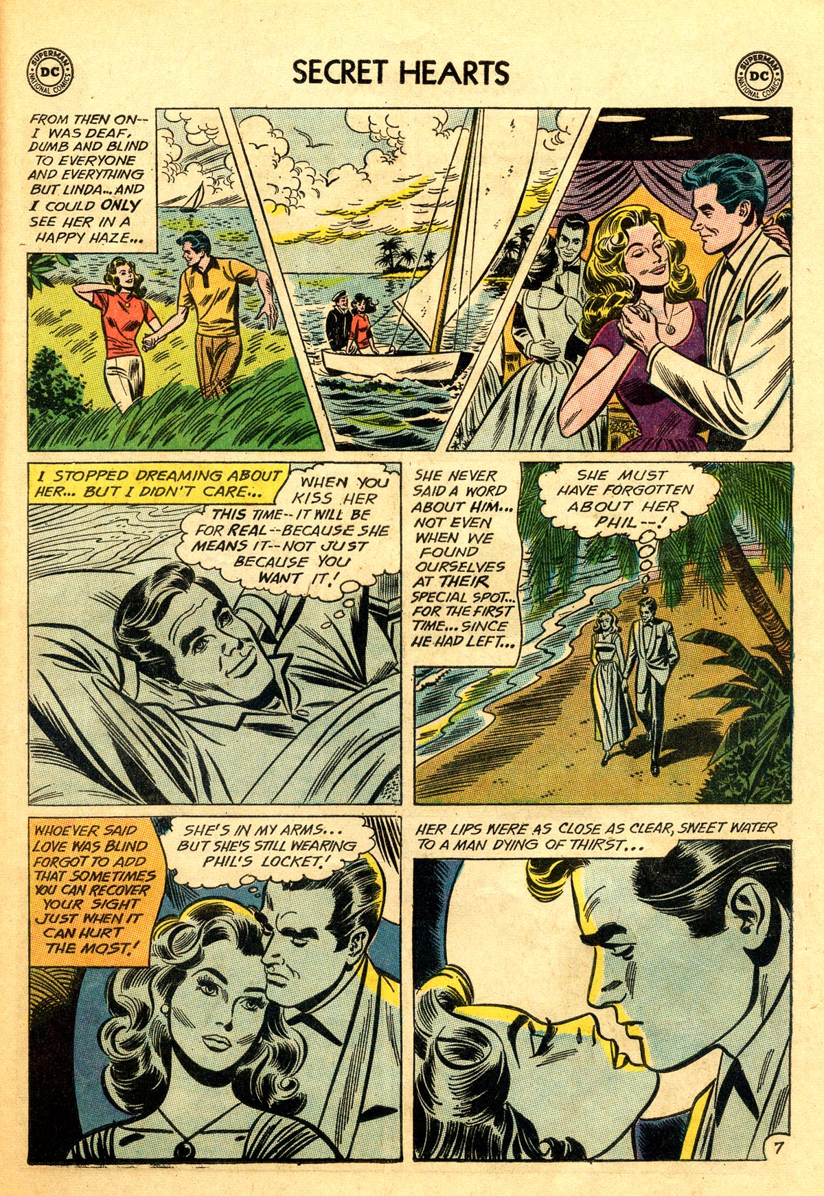 Read online Secret Hearts comic -  Issue #92 - 33