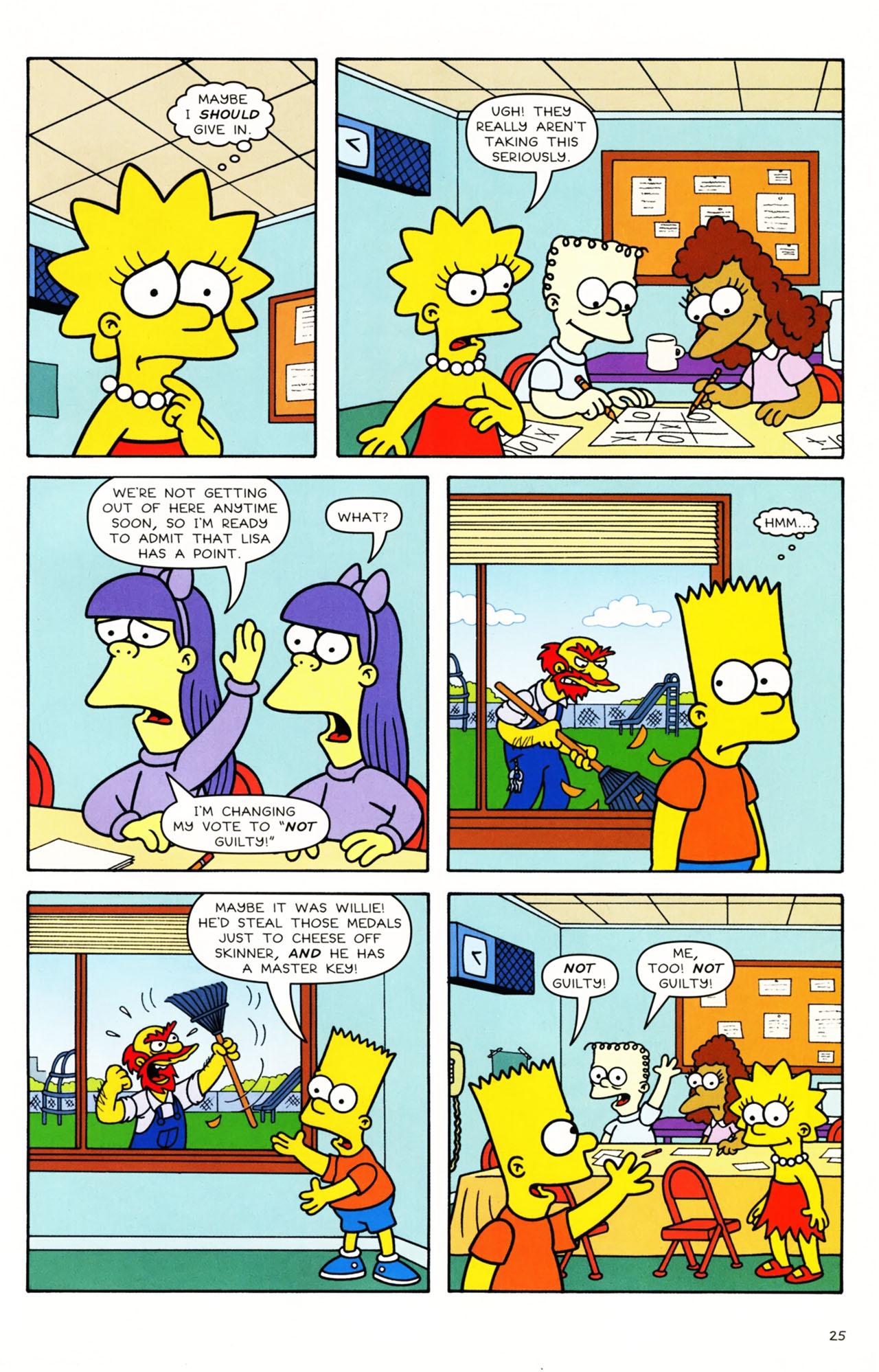 Read online Simpsons Comics Presents Bart Simpson comic -  Issue #49 - 23