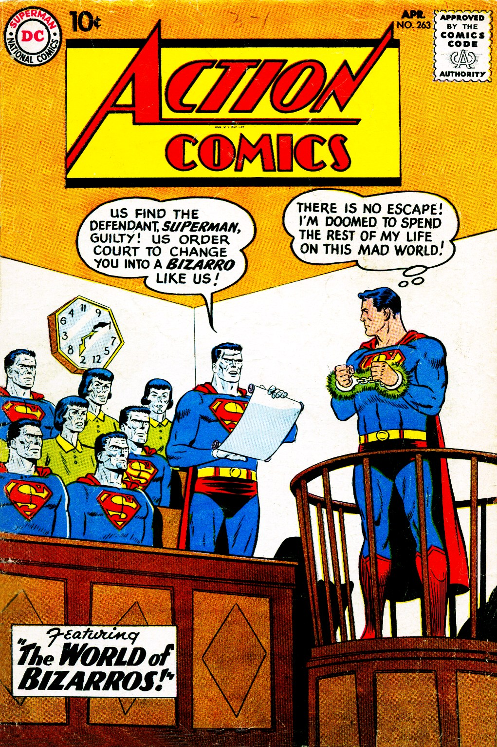 Read online Action Comics (1938) comic -  Issue #263 - 1