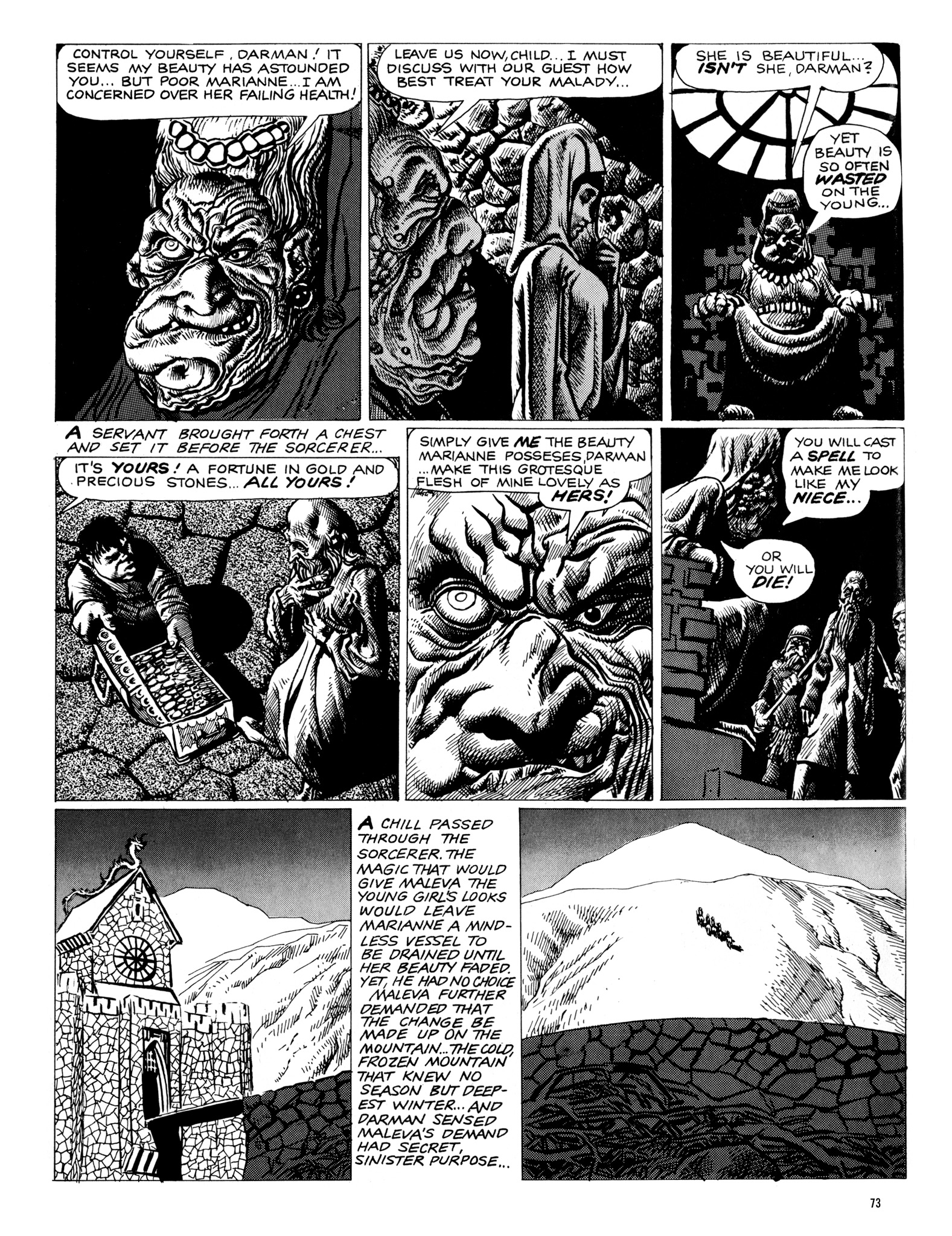 Read online Eerie Archives comic -  Issue # TPB 18 - 74