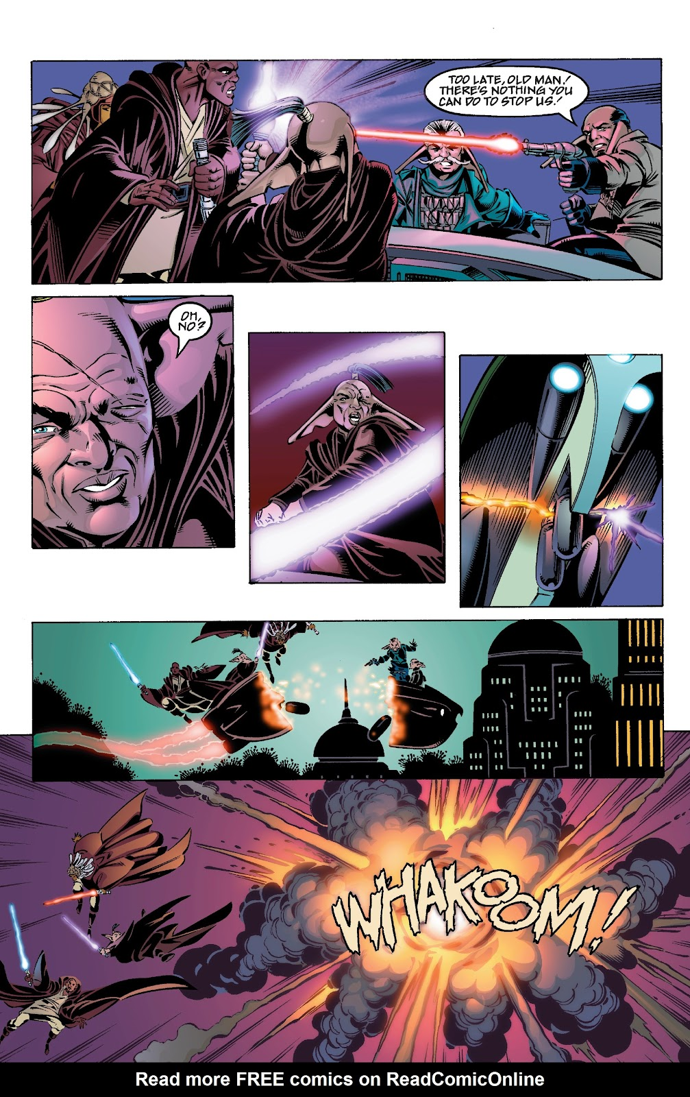 Read online Star Wars Legends Epic Collection: The Menace Revealed comic -  Issue # TPB (Part 4) - 12