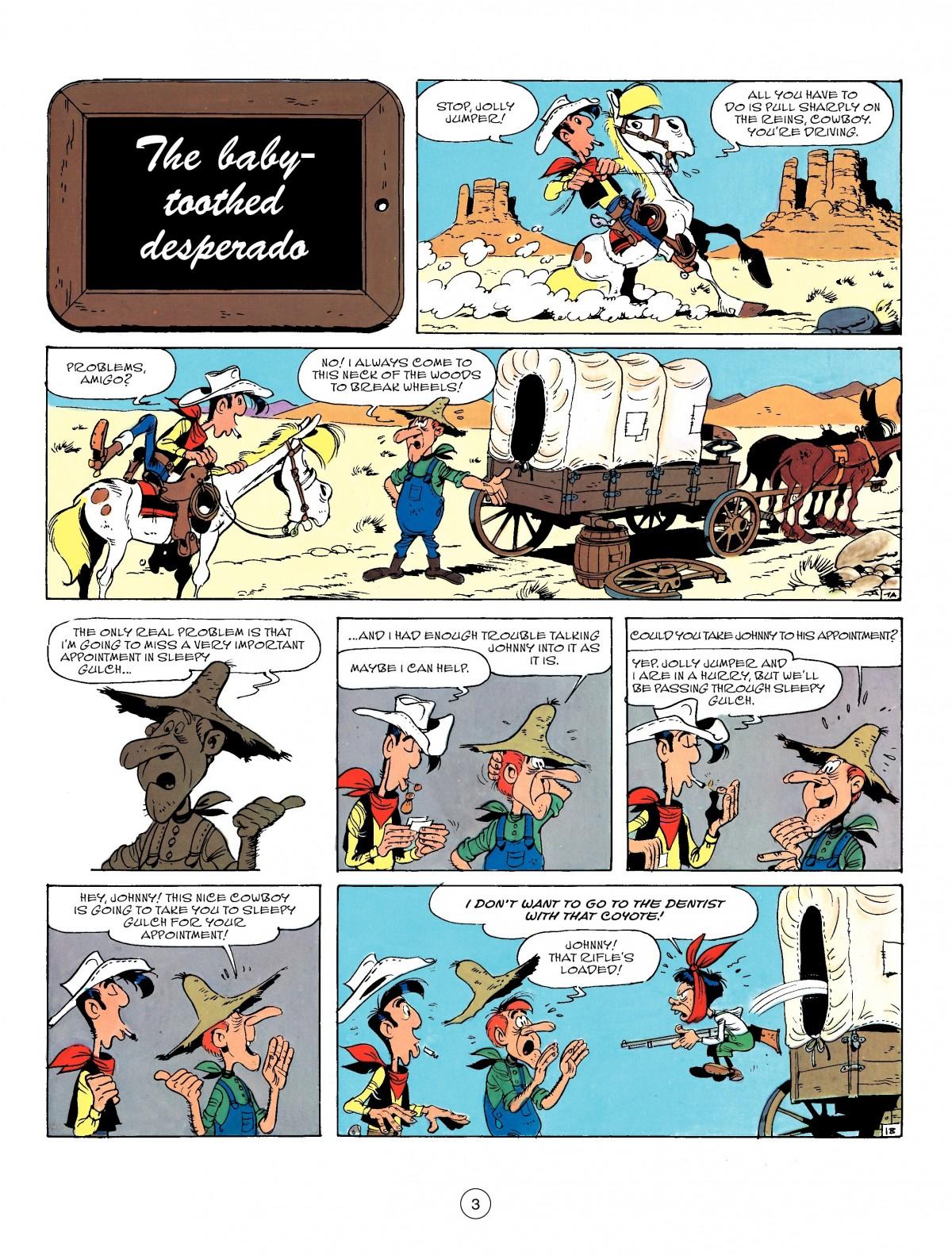Read online A Lucky Luke Adventure comic -  Issue #50 - 3
