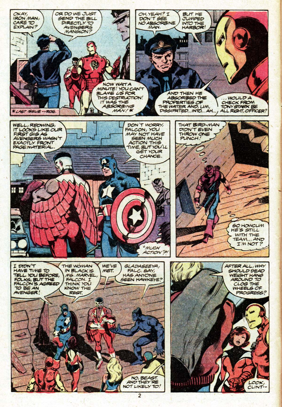 The Avengers (1963) 185 Page 2