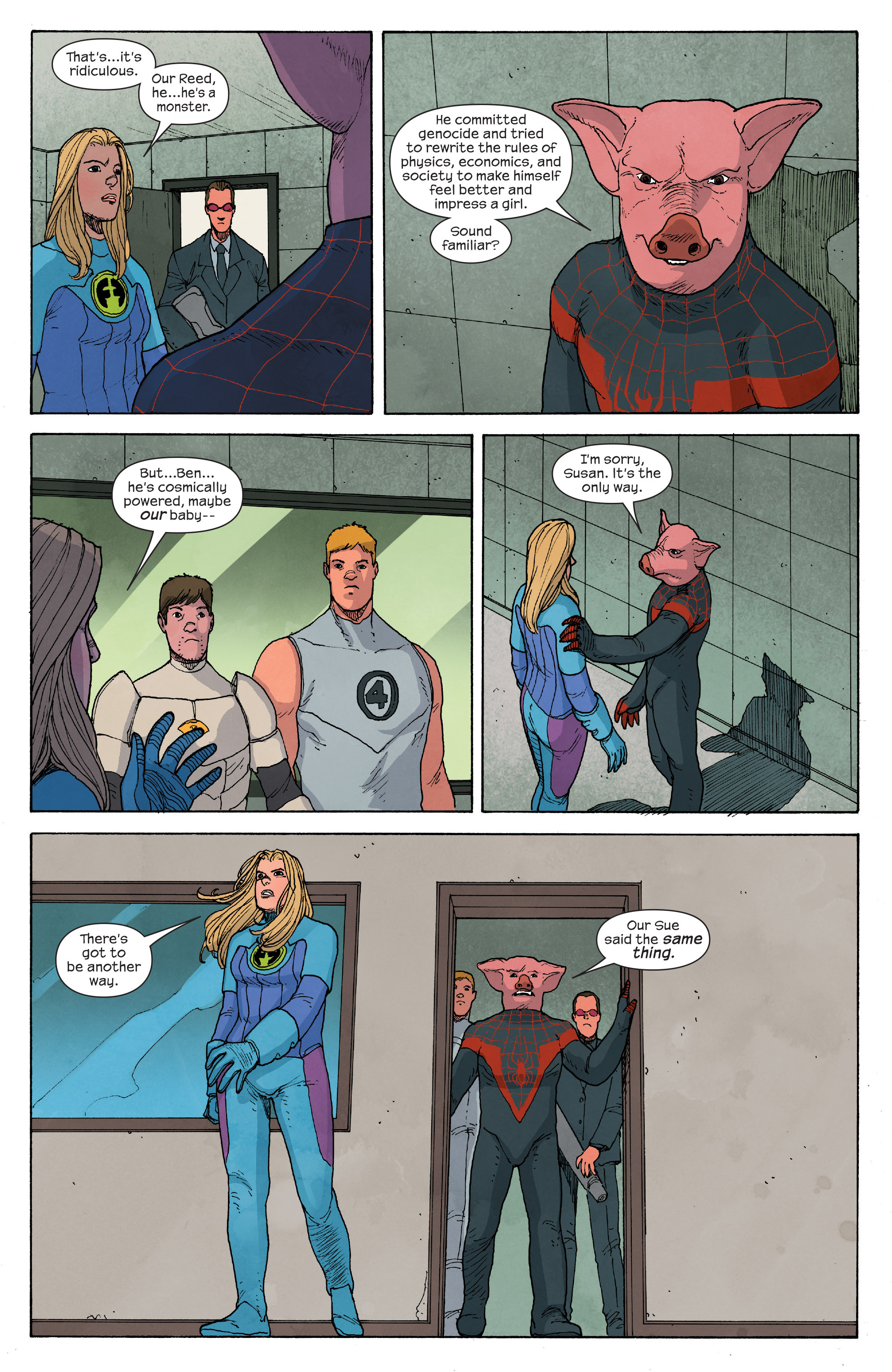 Read online Ultimate FF comic -  Issue #5 - 12