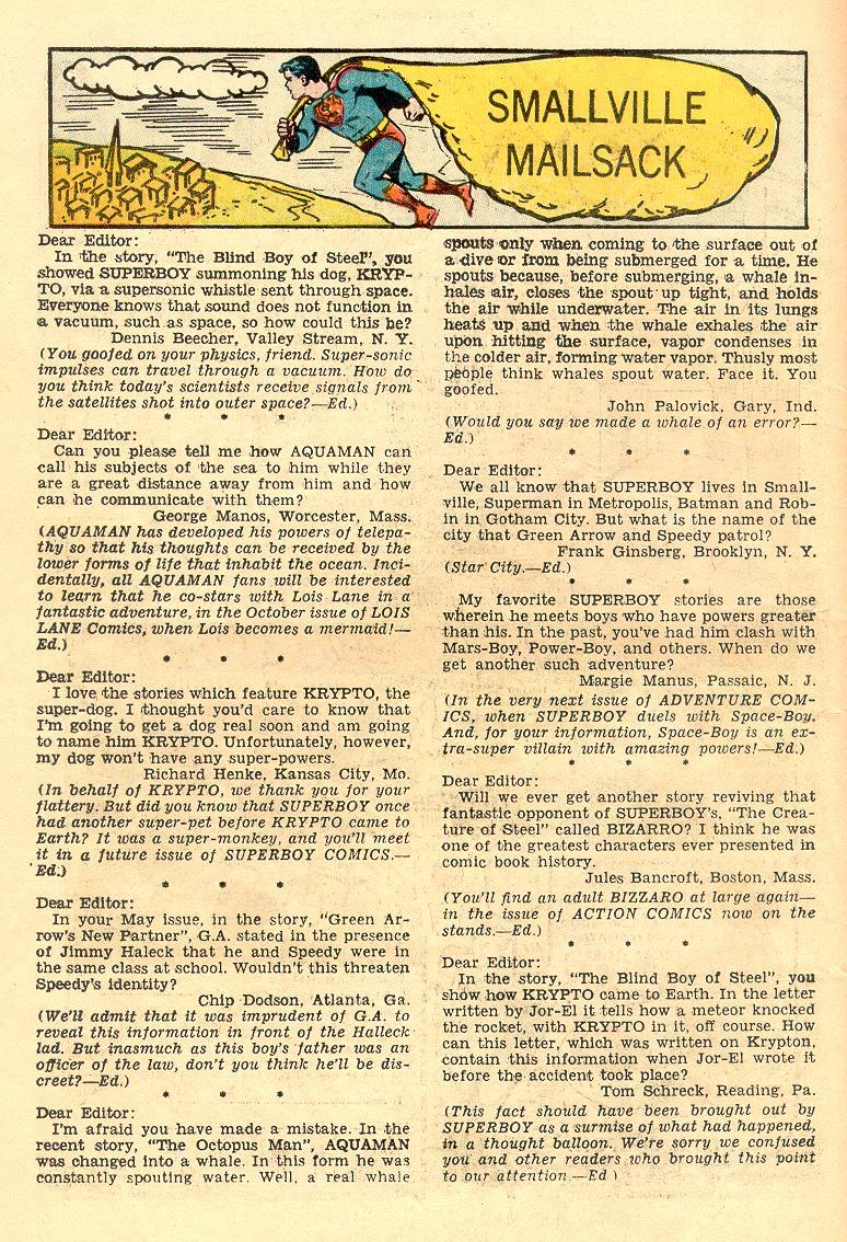Read online Adventure Comics (1938) comic -  Issue #263 - 25
