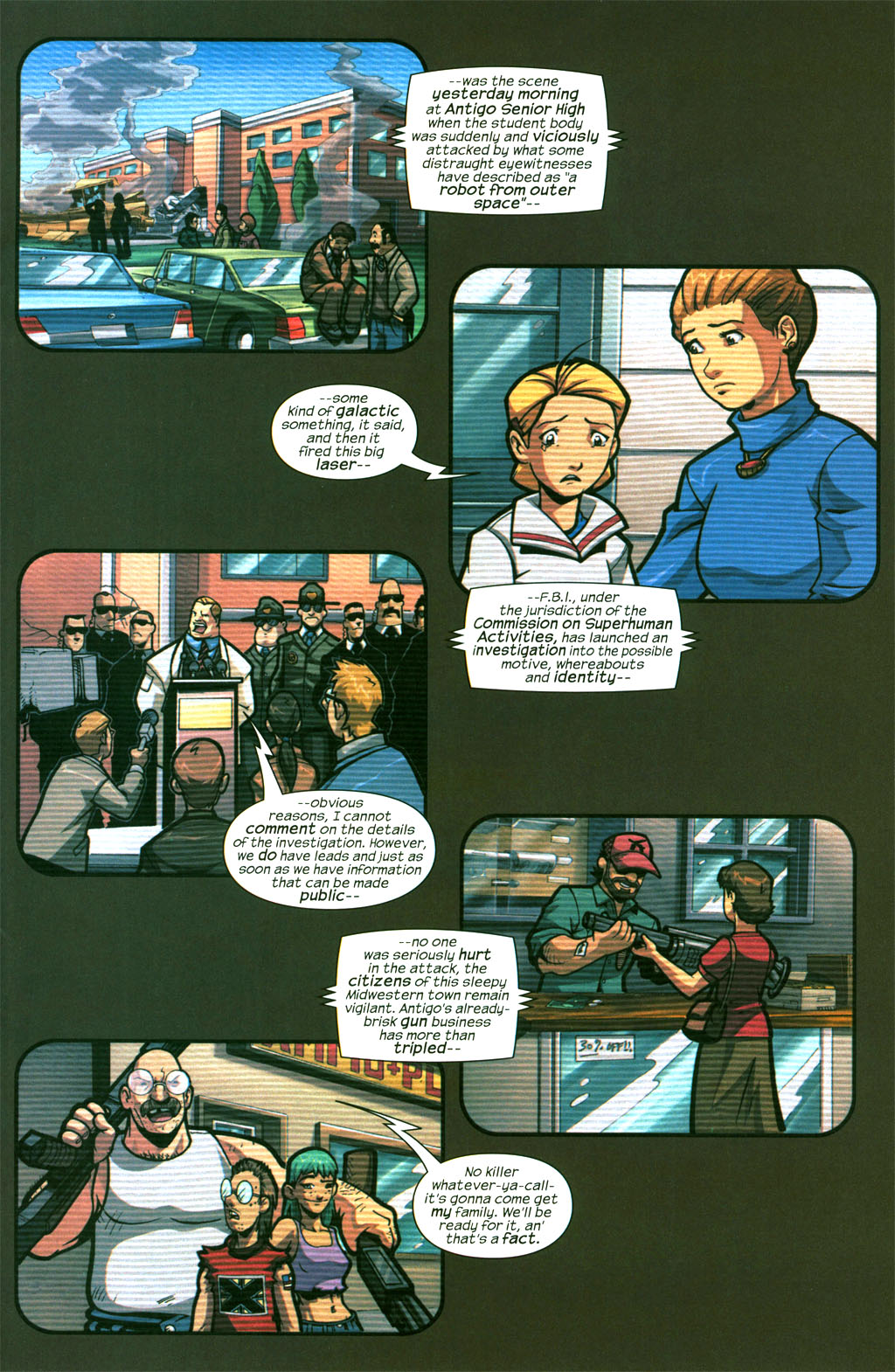 Read online Sentinel comic -  Issue #6 - 15