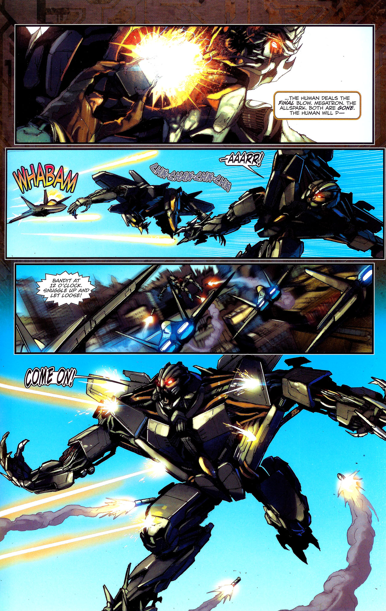 Read online Transformers: The Reign of Starscream comic -  Issue #1 - 20