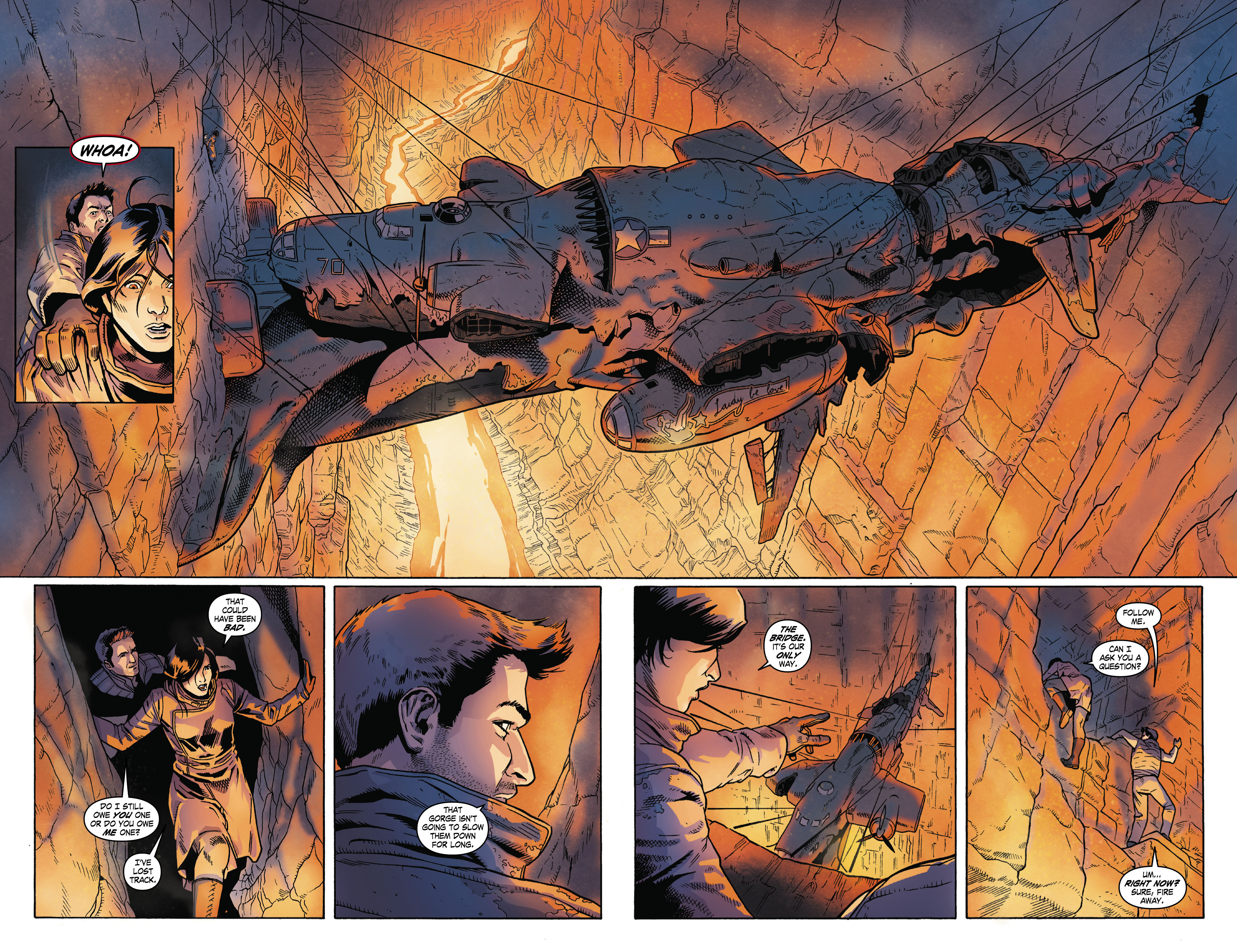 Read online Uncharted comic -  Issue #4 - 14