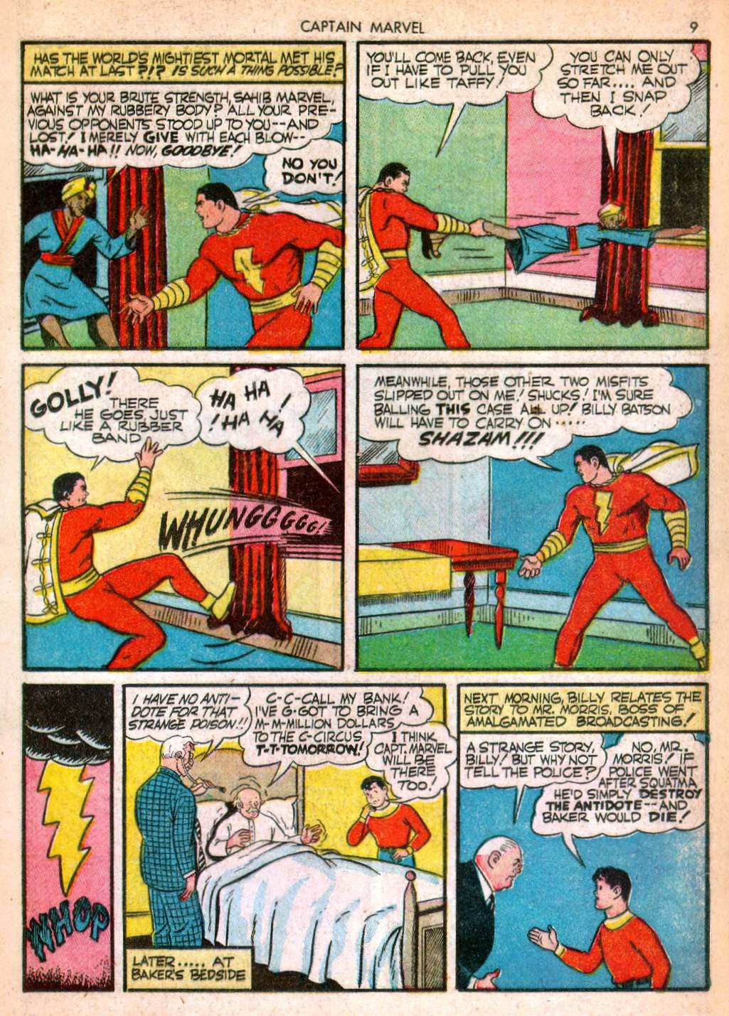 Captain Marvel Adventures issue 10 - Page 9