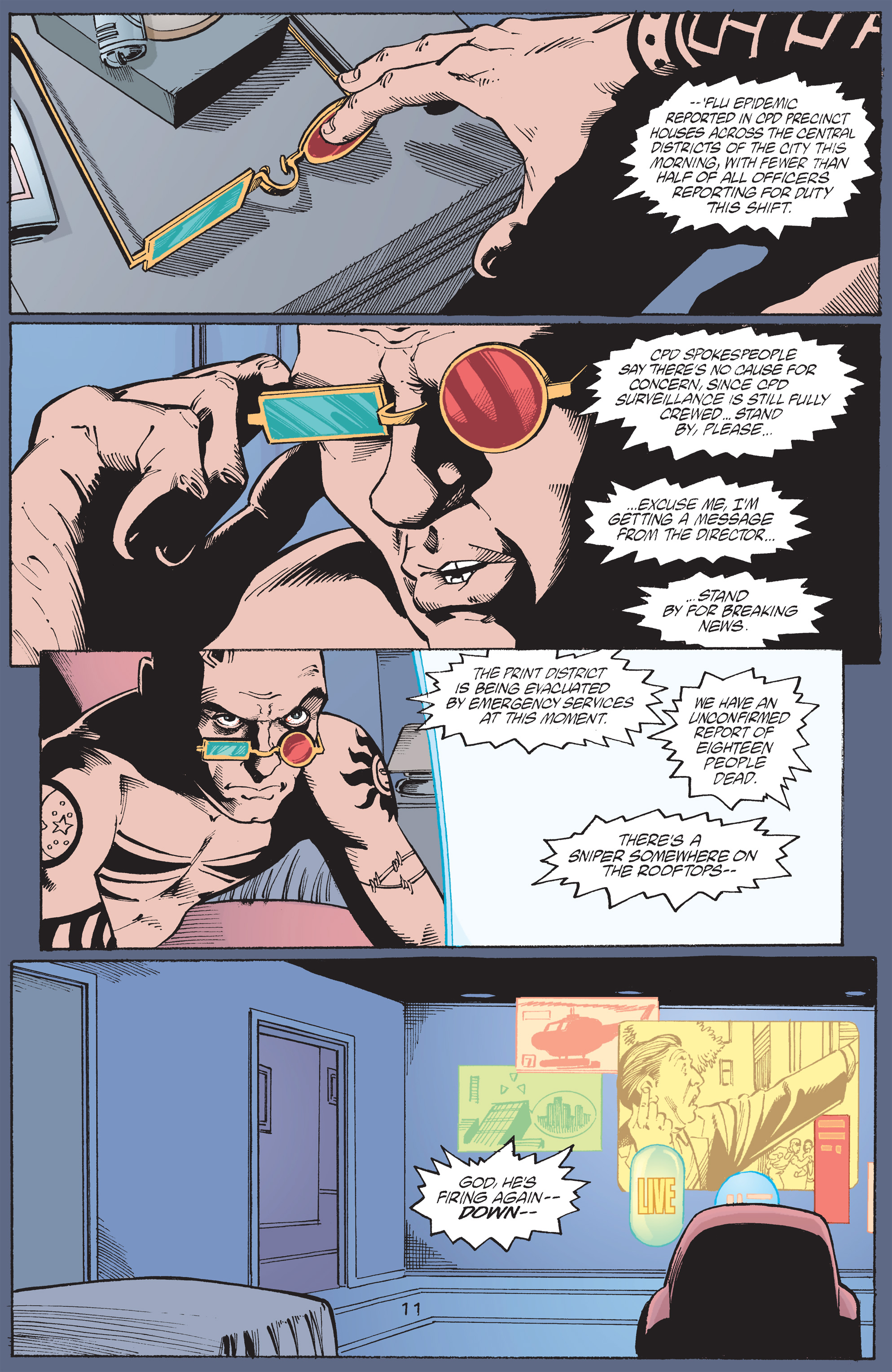 Read online Transmetropolitan comic -  Issue #43 - 12