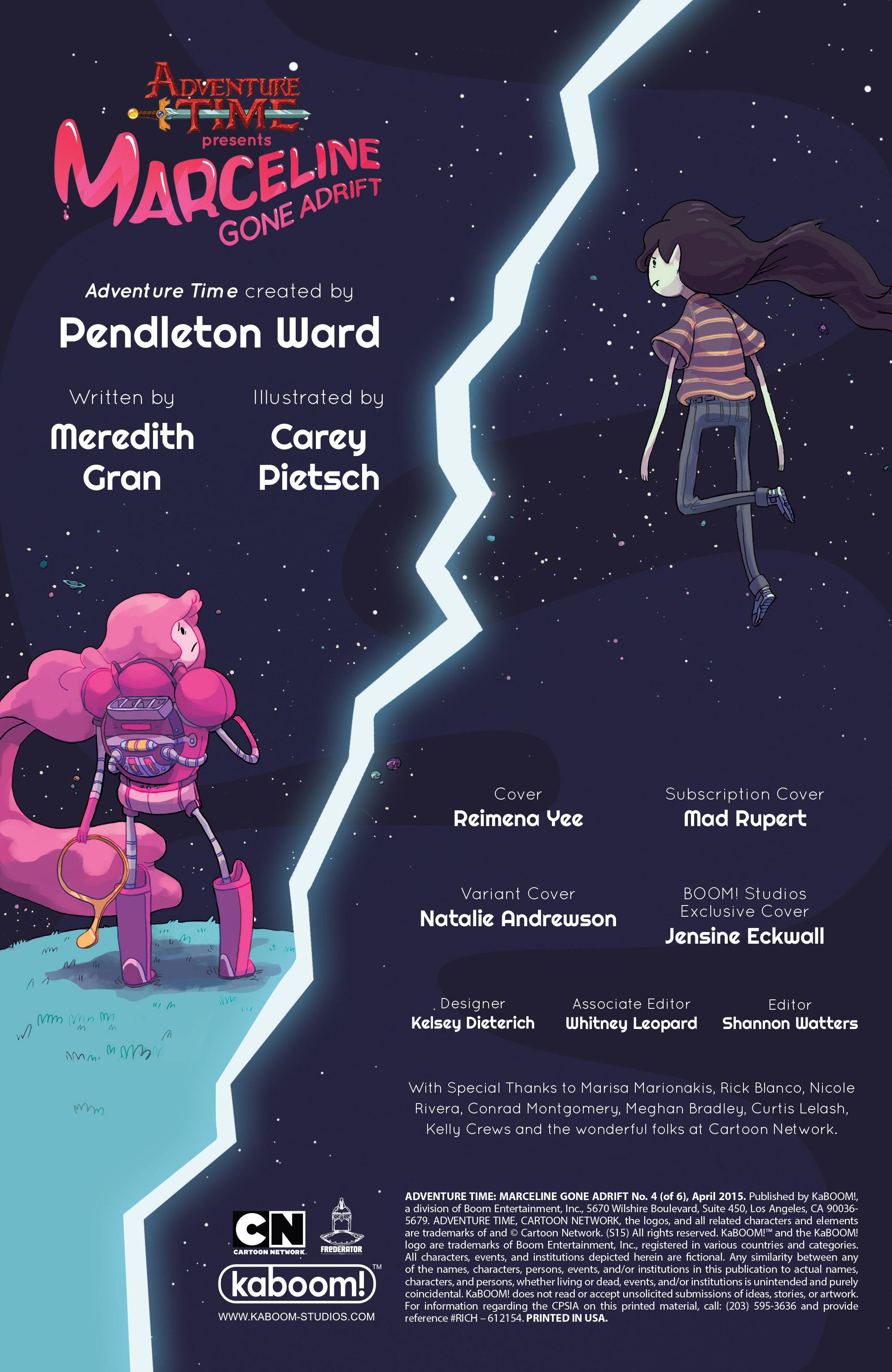 Read online Adventure Time: Marceline Gone Adrift comic -  Issue #4 - 2