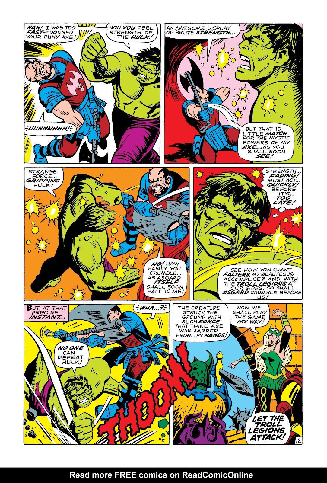 Read online Marvel Masterworks: The Incredible Hulk comic -  Issue # TPB 3 (Part 3) - 75