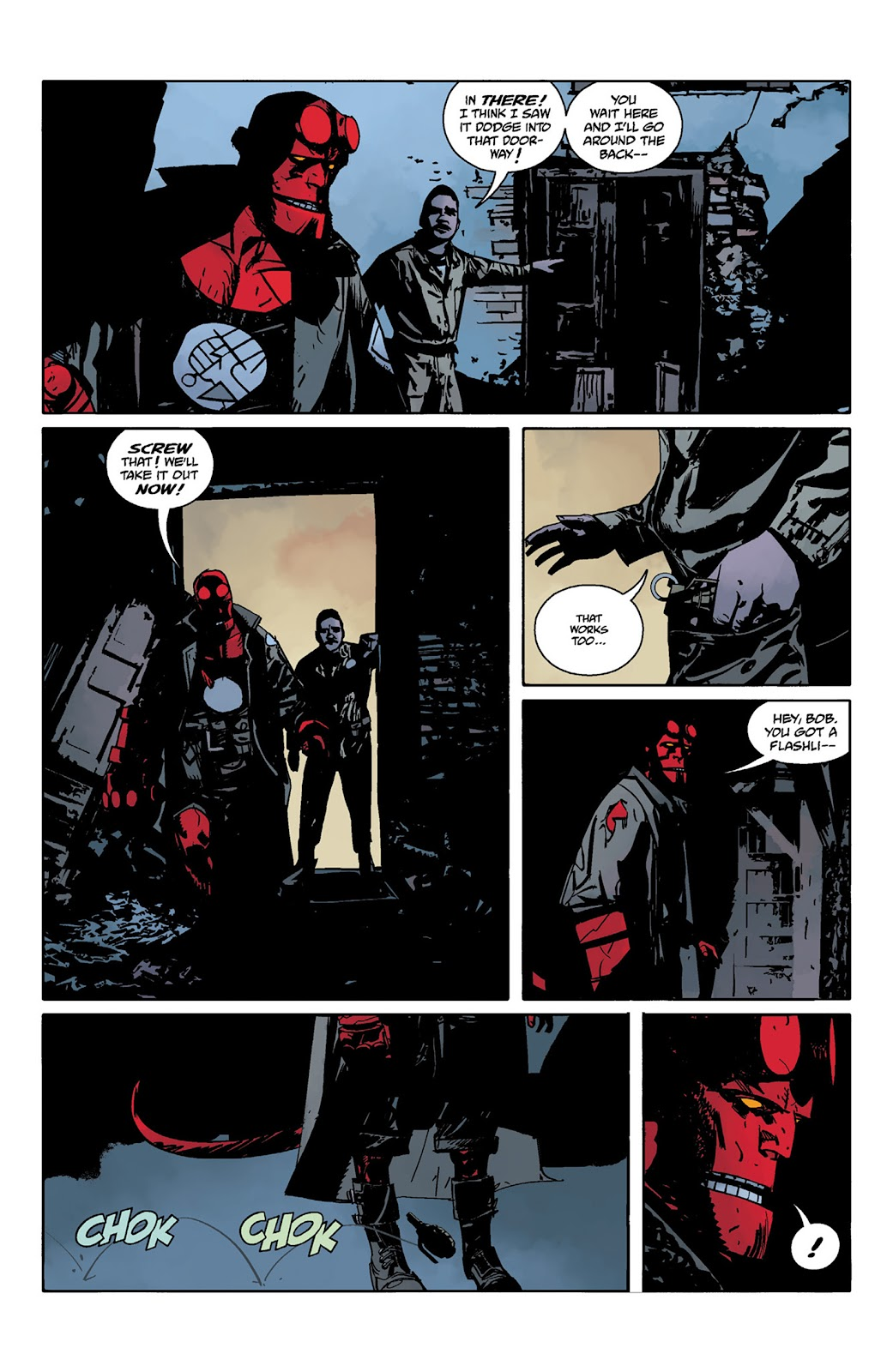 Read online Hellboy and the B.P.R.D. comic -  Issue # _TPB - 53