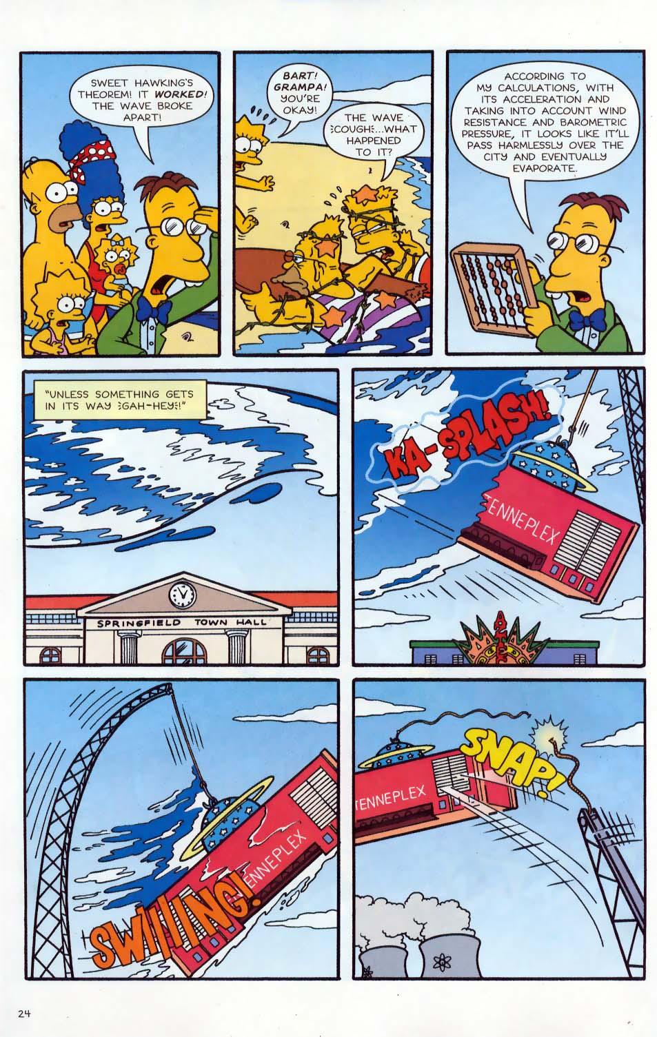 Read online Simpsons Comics comic -  Issue #86 - 25