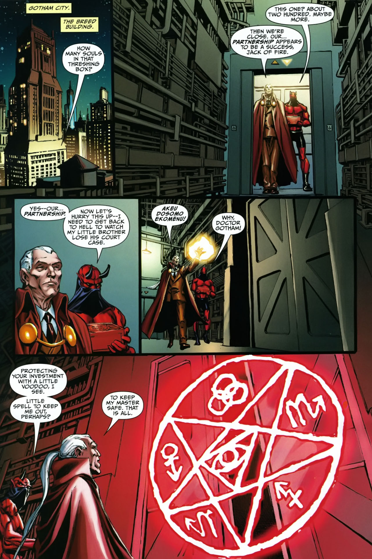 Read online Shadowpact comic -  Issue #23 - 13