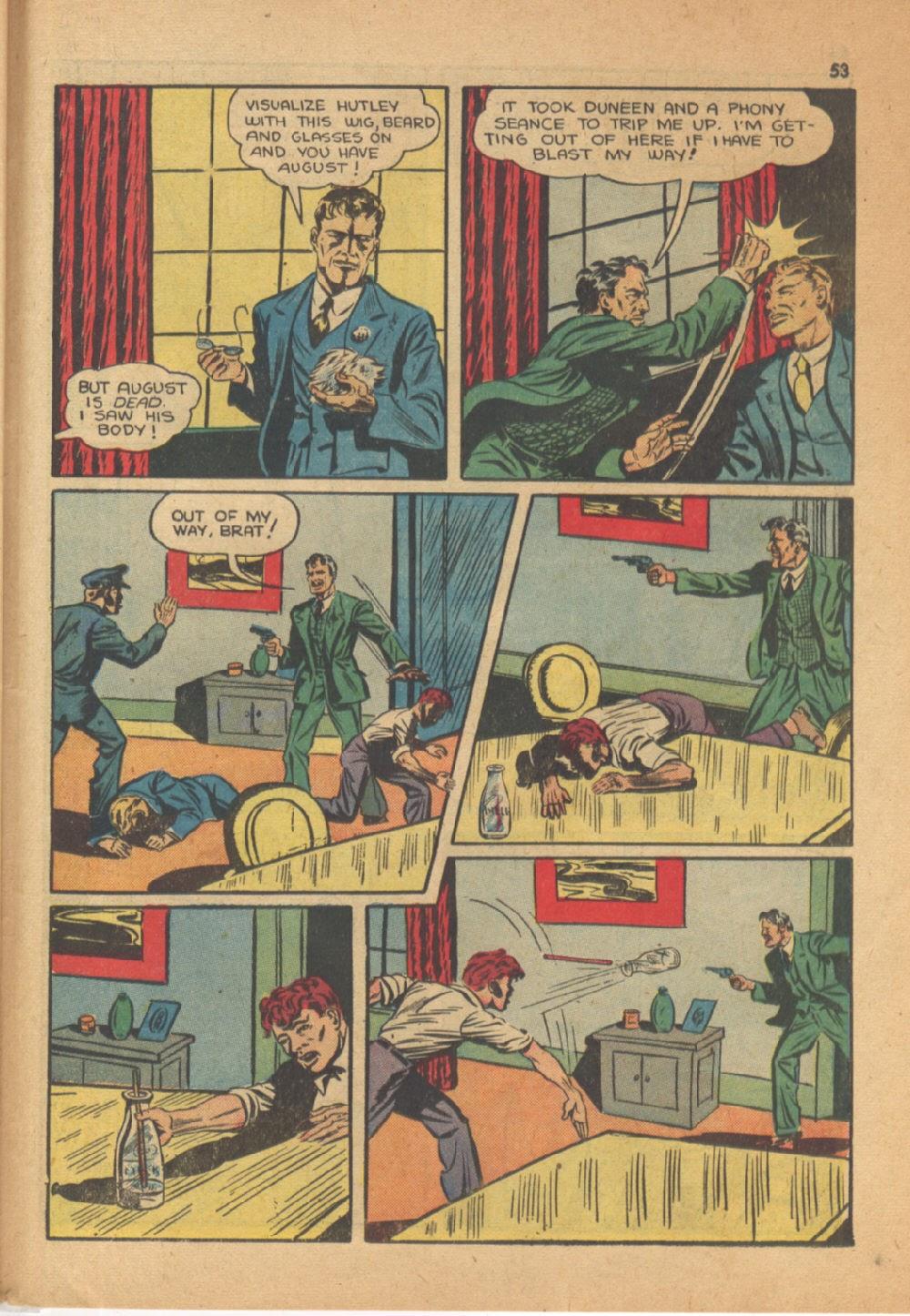 Read online Super-Magician Comics comic -  Issue #13 - 53