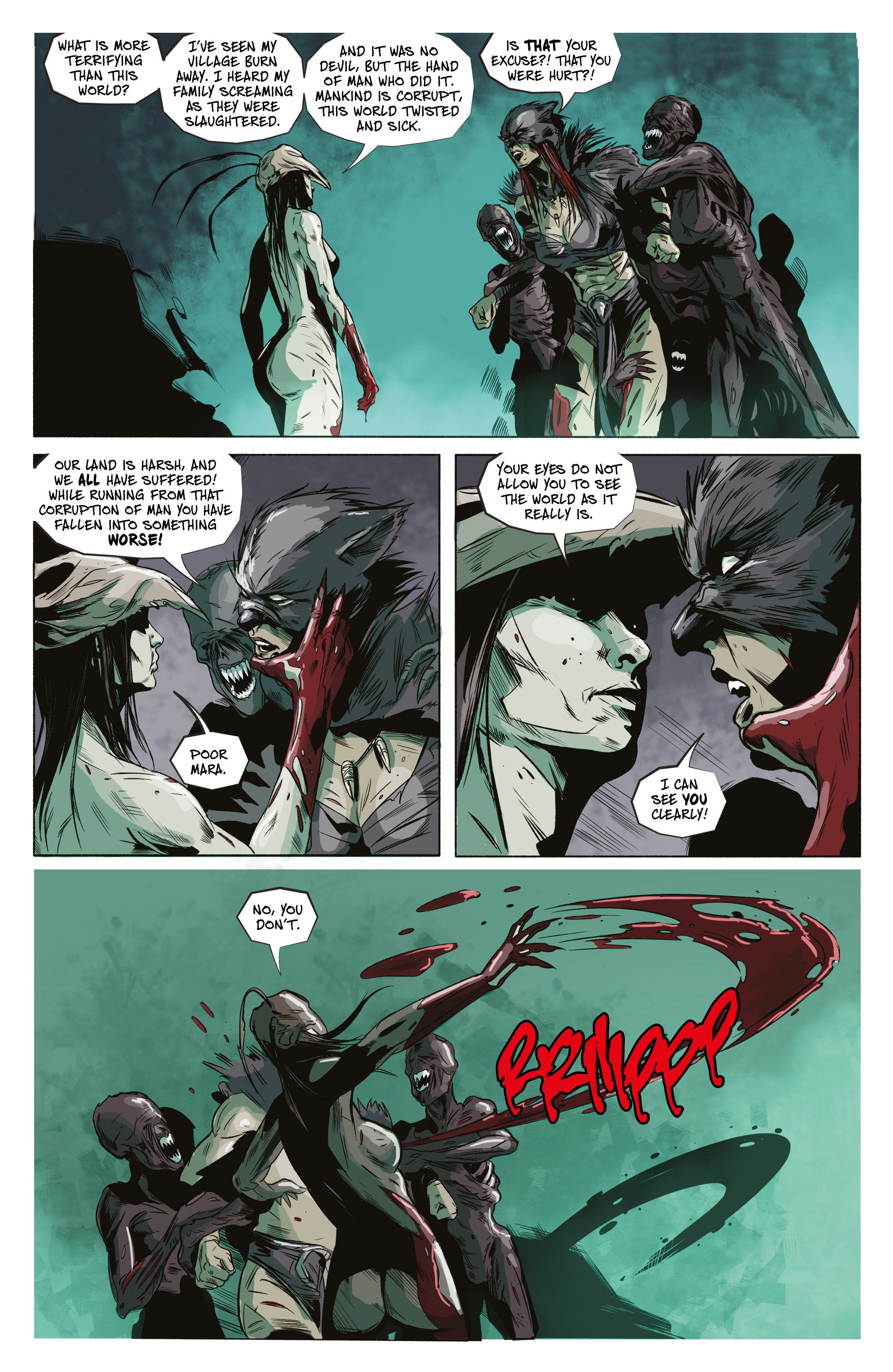 Read online Ghost Wolf comic -  Issue #4 - 22