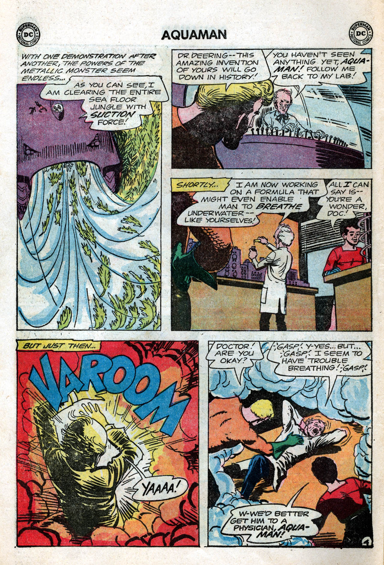 Read online Aquaman (1962) comic -  Issue #15 - 6