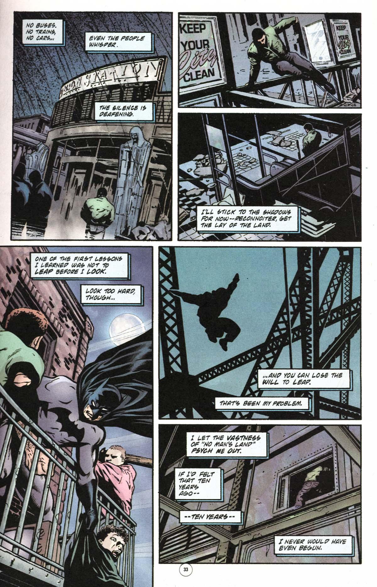 Read online Batman: No Man's Land comic -  Issue #0 - 29