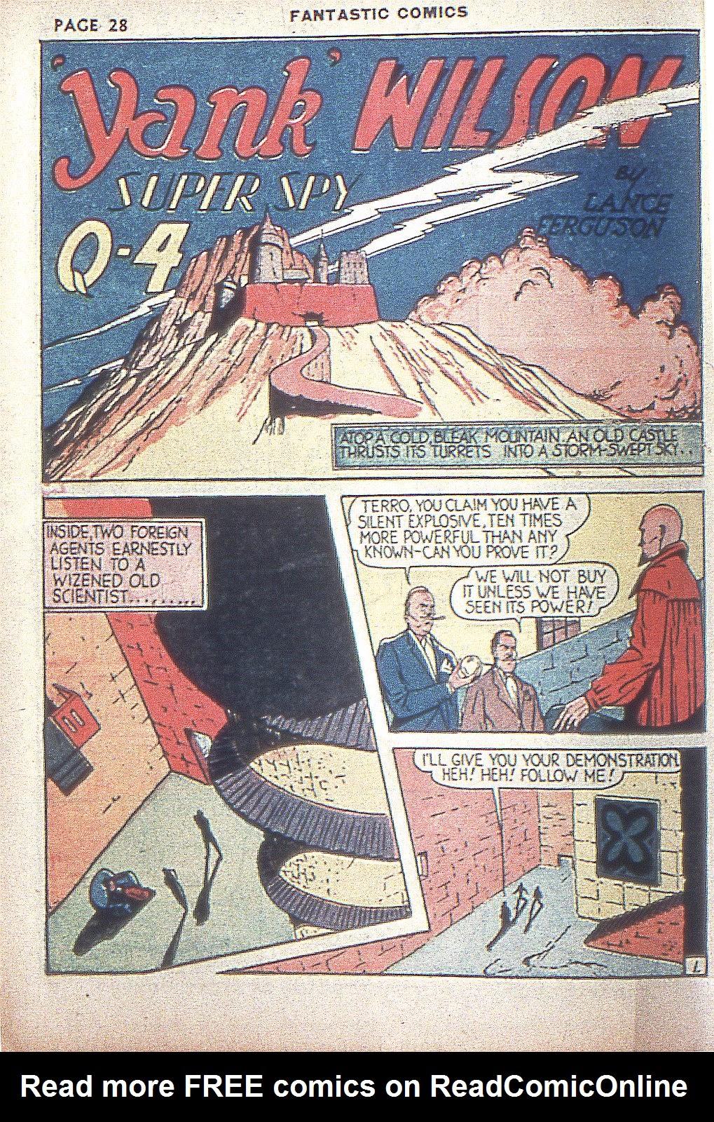 Read online Fantastic Comics comic -  Issue #4 - 30