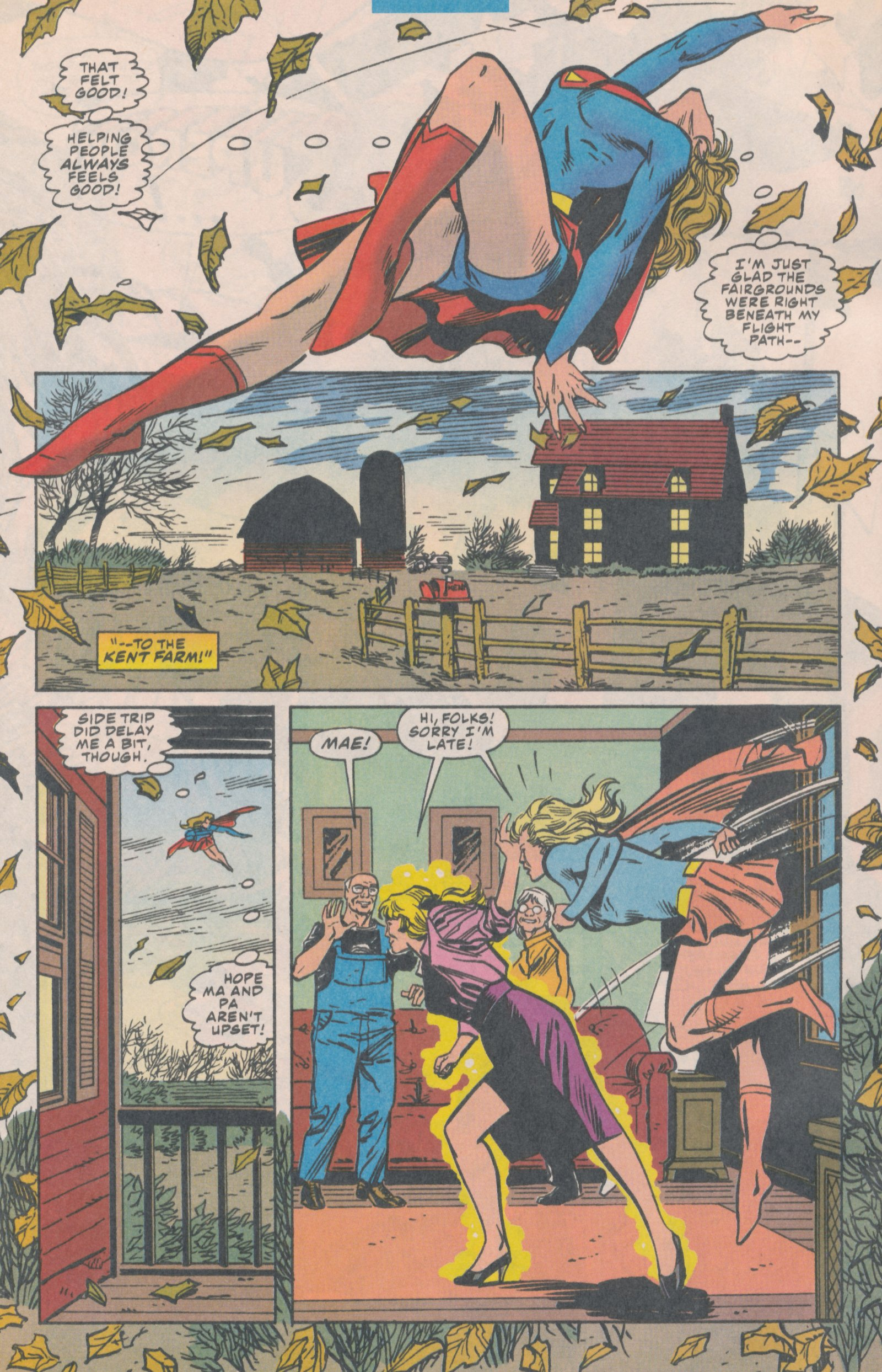 Read online Action Comics (1938) comic -  Issue #706 - 5