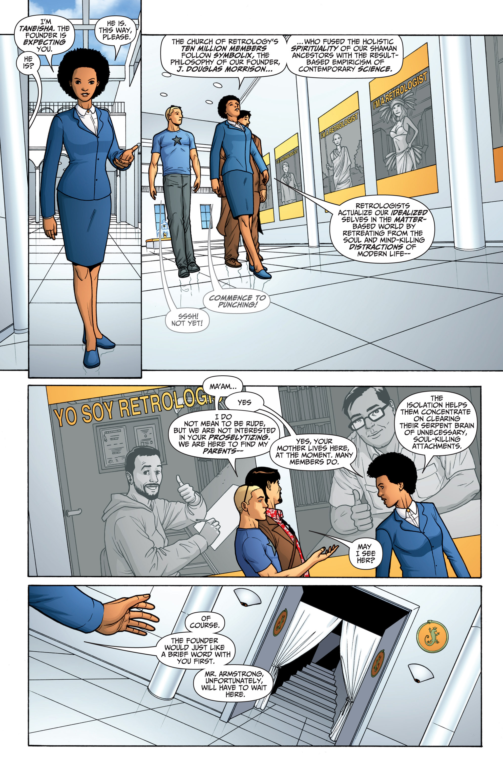 Read online Archer and Armstrong comic -  Issue #Archer and Armstrong _TPB 6 - 12