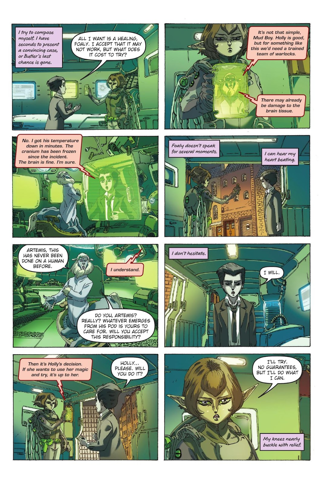 Artemis Fowl: The Eternity Code issue TPB - Page 37
