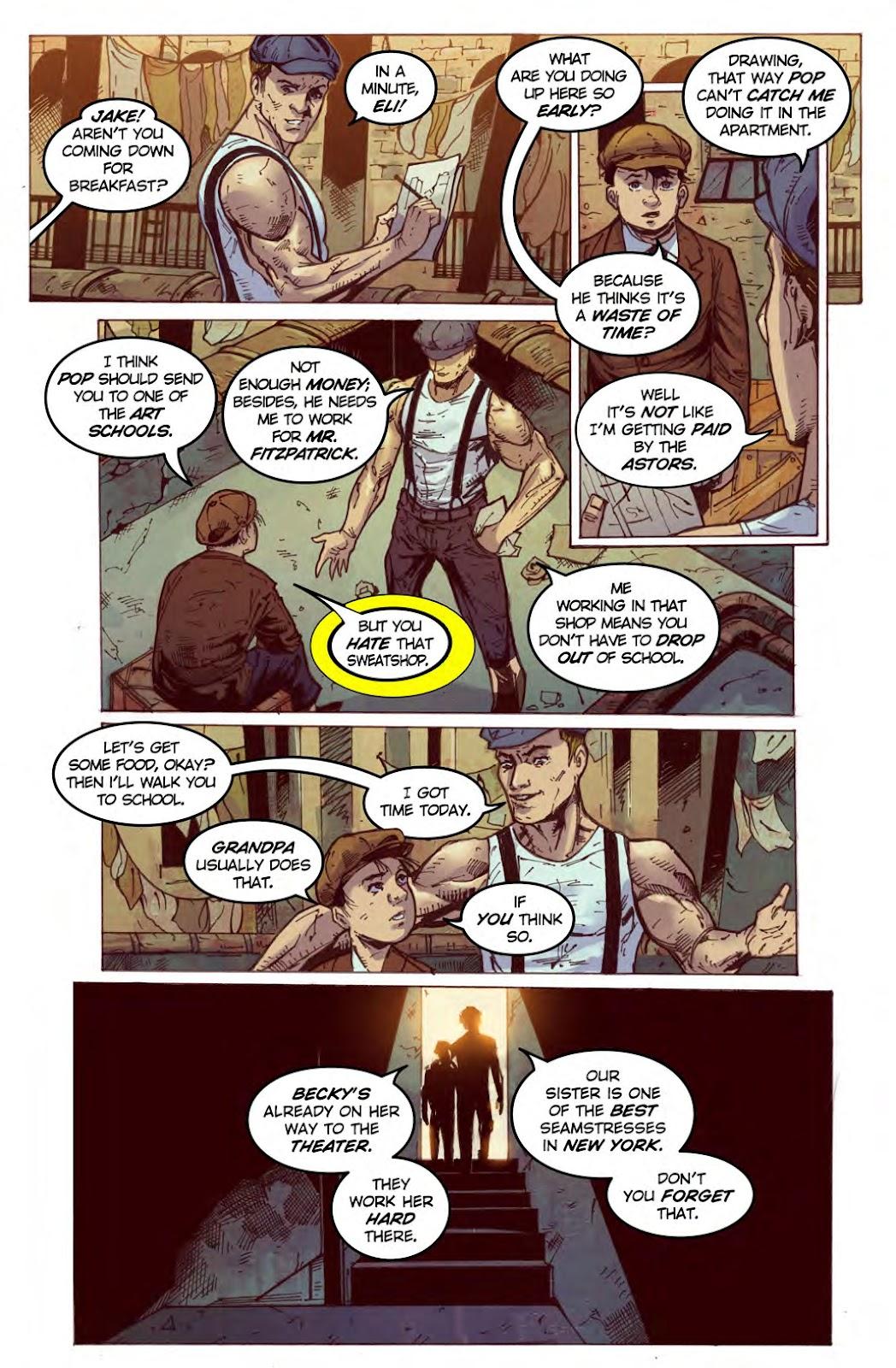 Read online American Dreams comic -  Issue #1 - 4