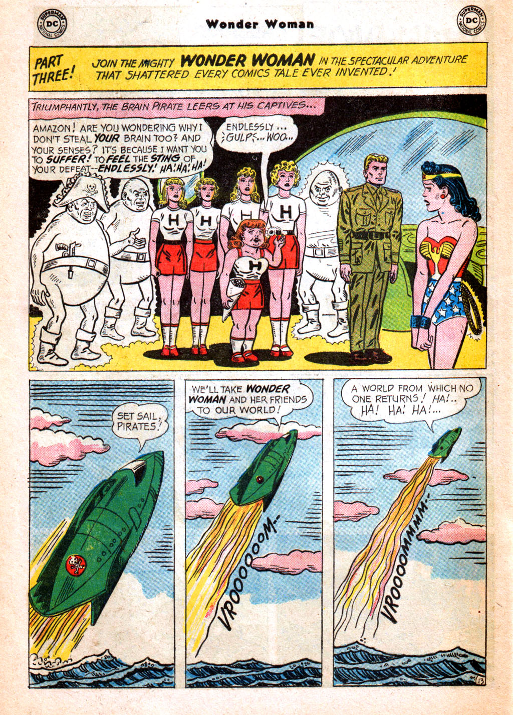 Read online Wonder Woman (1942) comic -  Issue #156 - 20