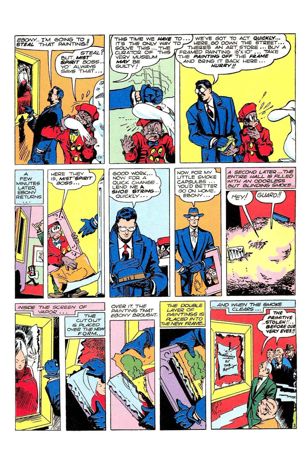 Read online Will Eisner's The Spirit Archives comic -  Issue # TPB 2 (Part 2) - 55