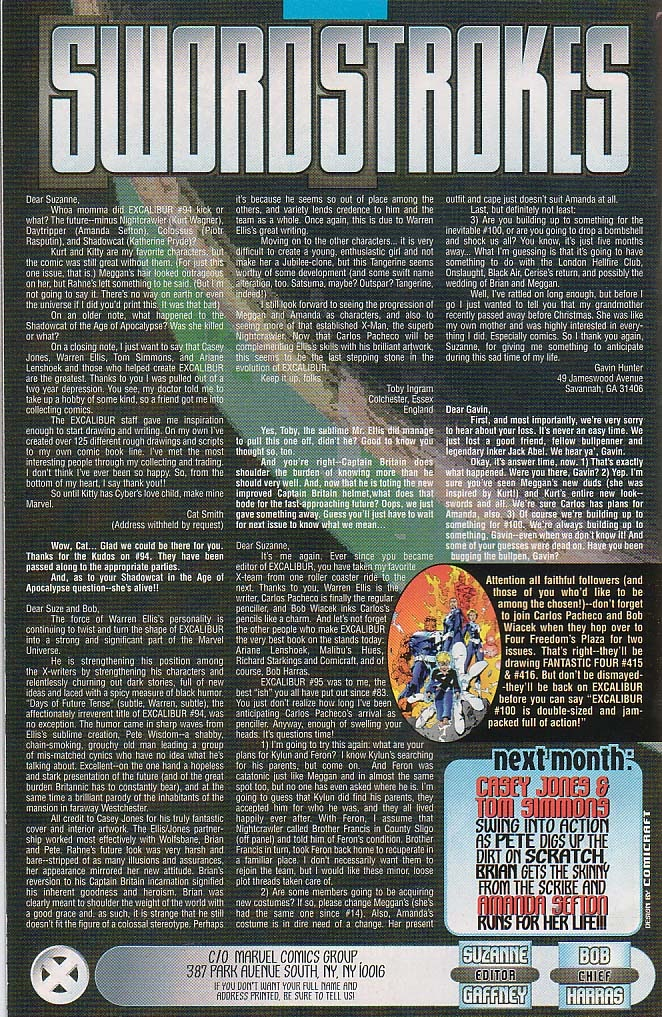 Excalibur (1988) issue 98 - Page 21