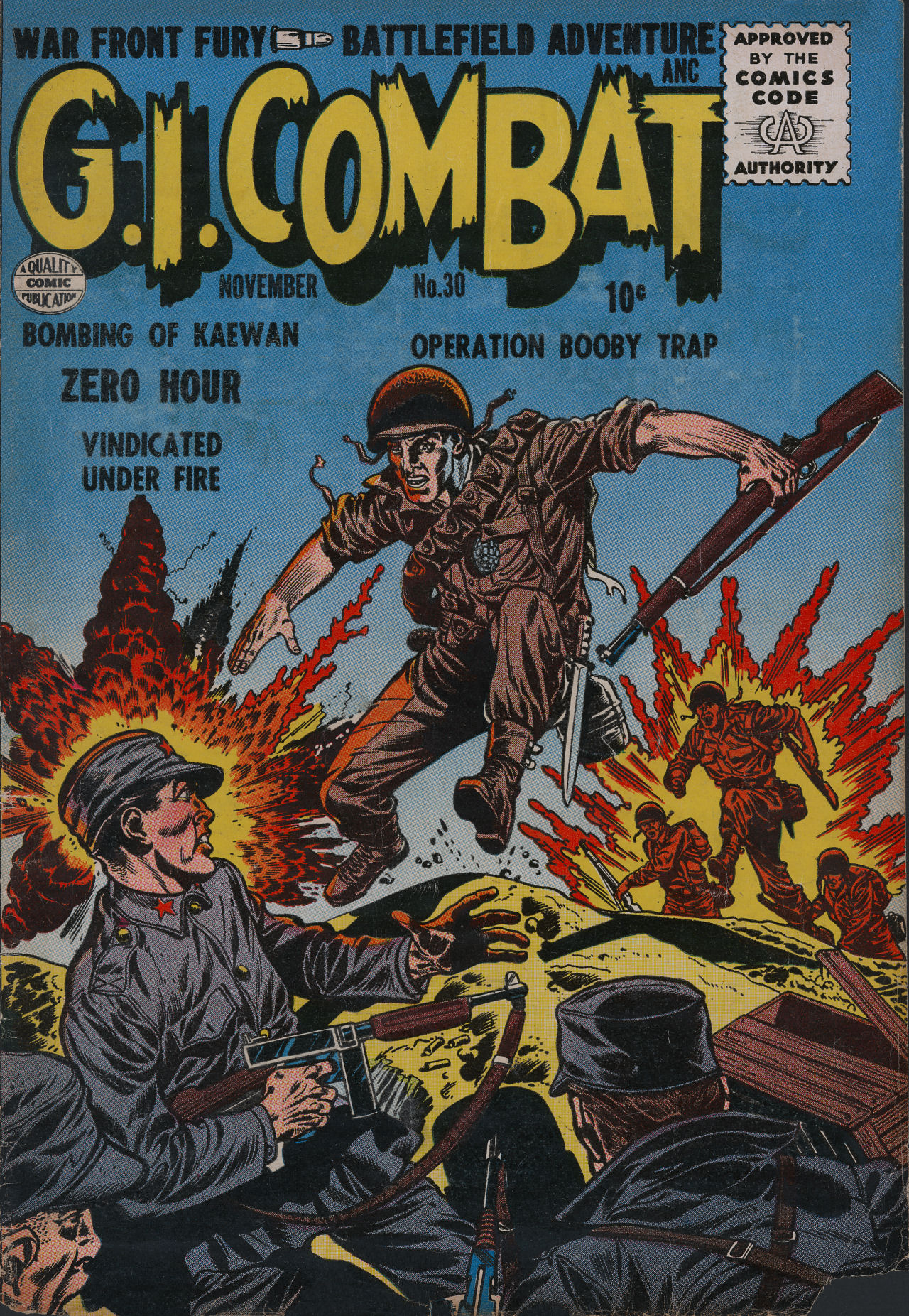 G.I. Combat (1952) 30 Page 1