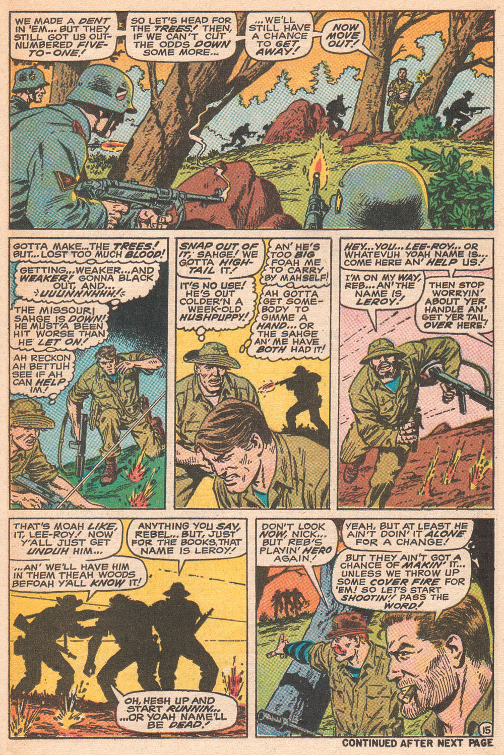 Read online Sgt. Fury comic -  Issue #70 - 21
