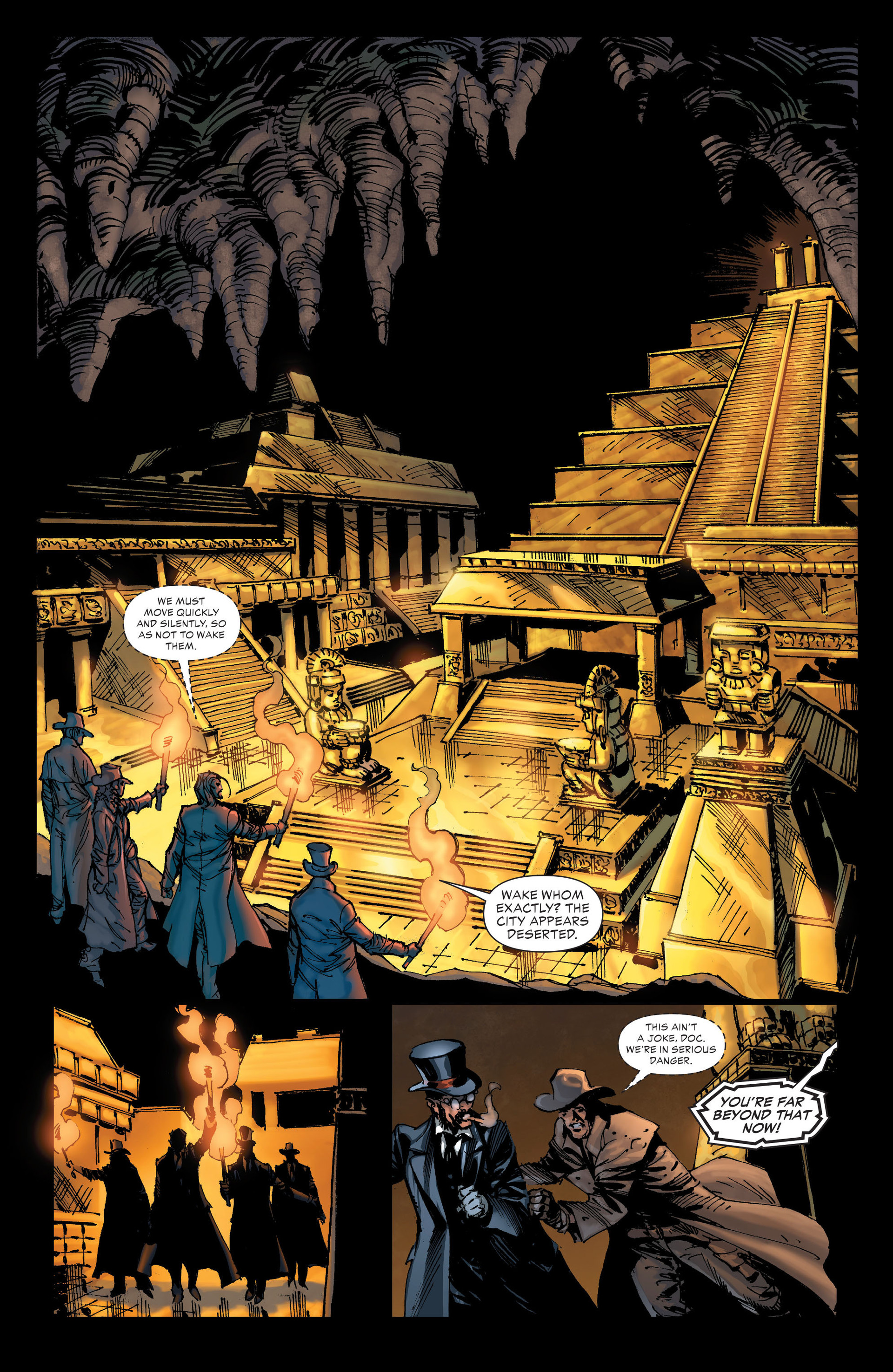 Read online All-Star Western (2011) comic -  Issue #20 - 26