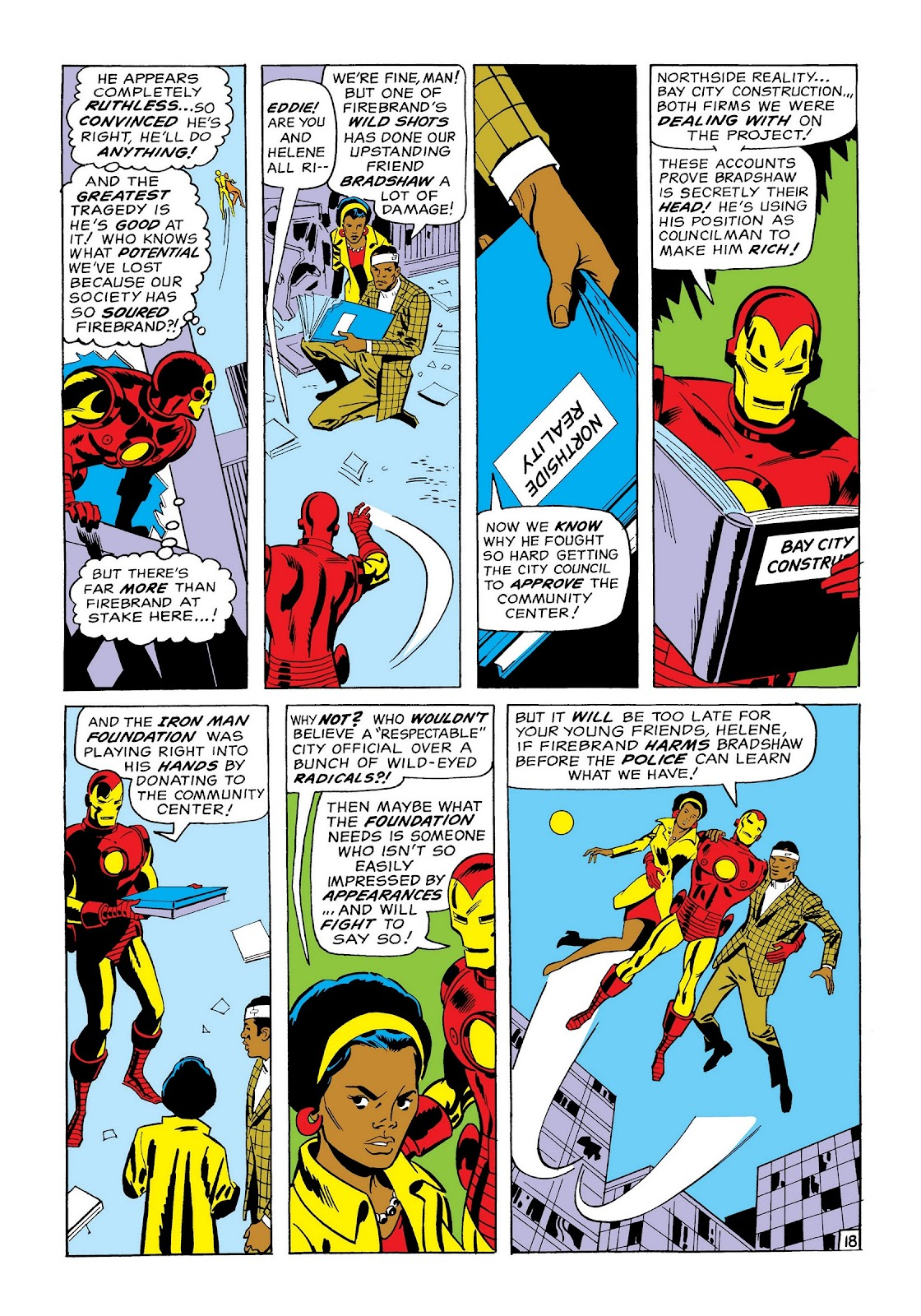 Read online Marvel Masterworks: The Invincible Iron Man comic -  Issue # TPB 7 (Part 1) - 46